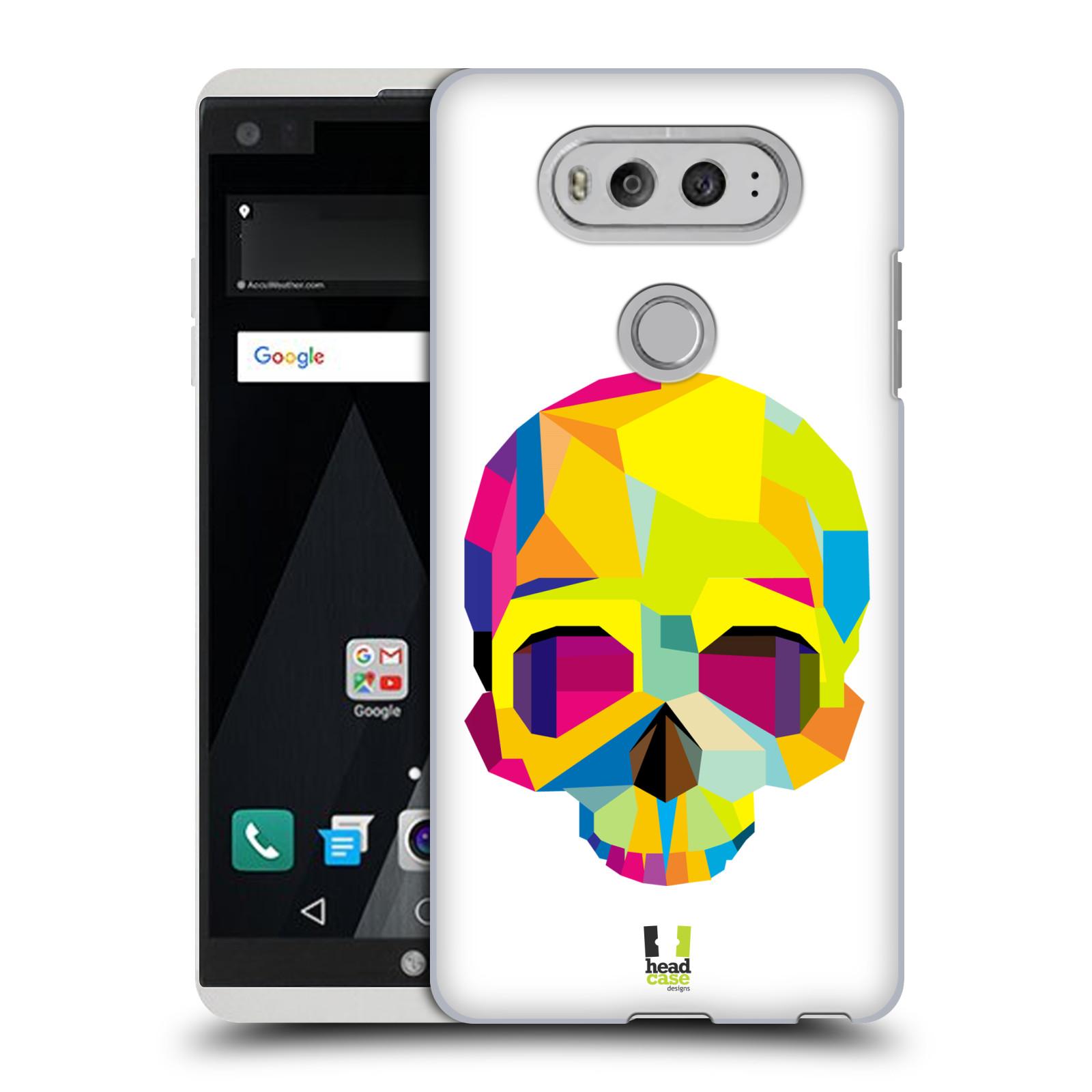 HEAD CASE plastový obal na mobil LG V20 vzor POP ART kubismus smrtelnost