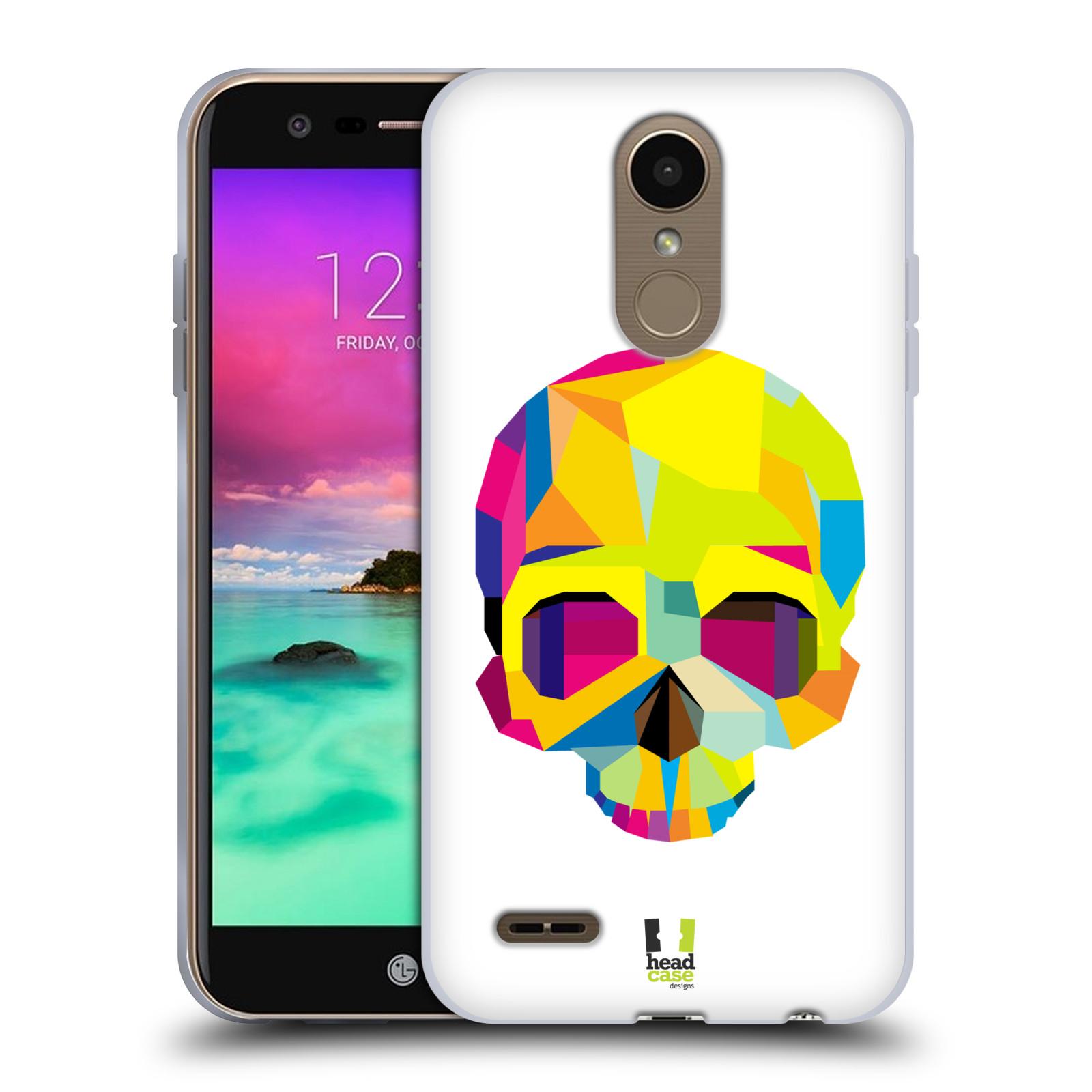 HEAD CASE silikonový obal na mobil LG K11 / K10 2018 vzor POP ART kubismus smrtelnost