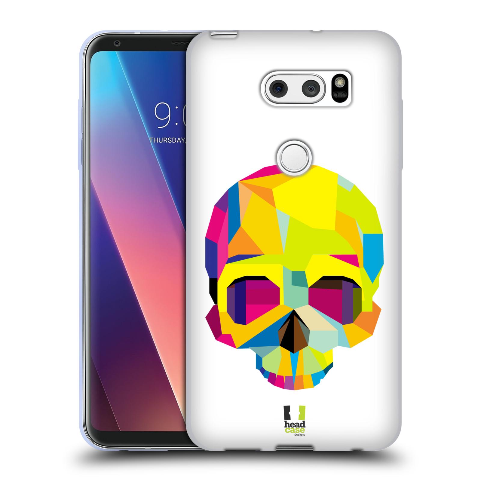 HEAD CASE silikonový obal na mobil LG V30 / V30 PLUS vzor POP ART kubismus smrtelnost