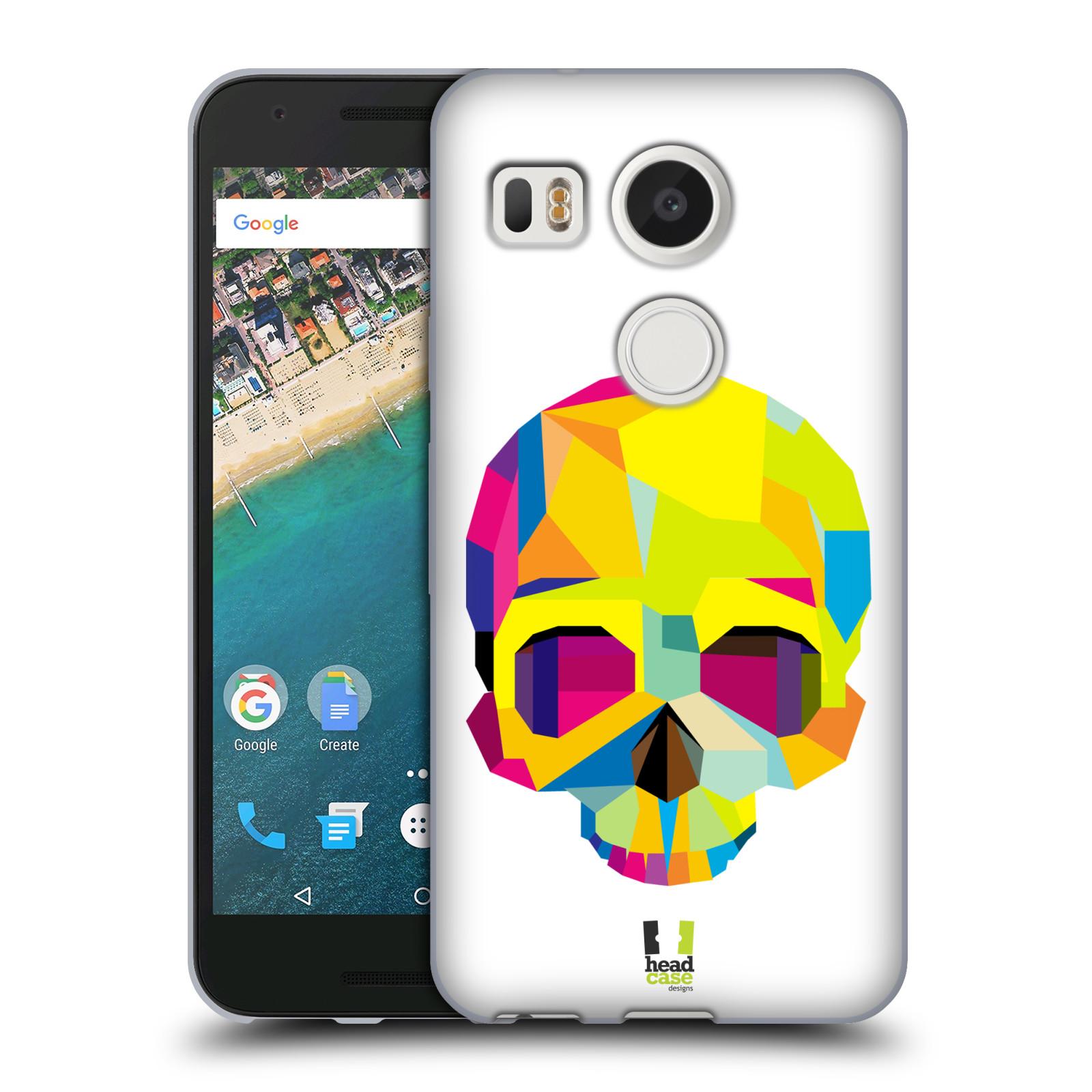 HEAD CASE silikonový obal na mobil LG NEXUS 5X vzor POP ART kubismus smrtelnost