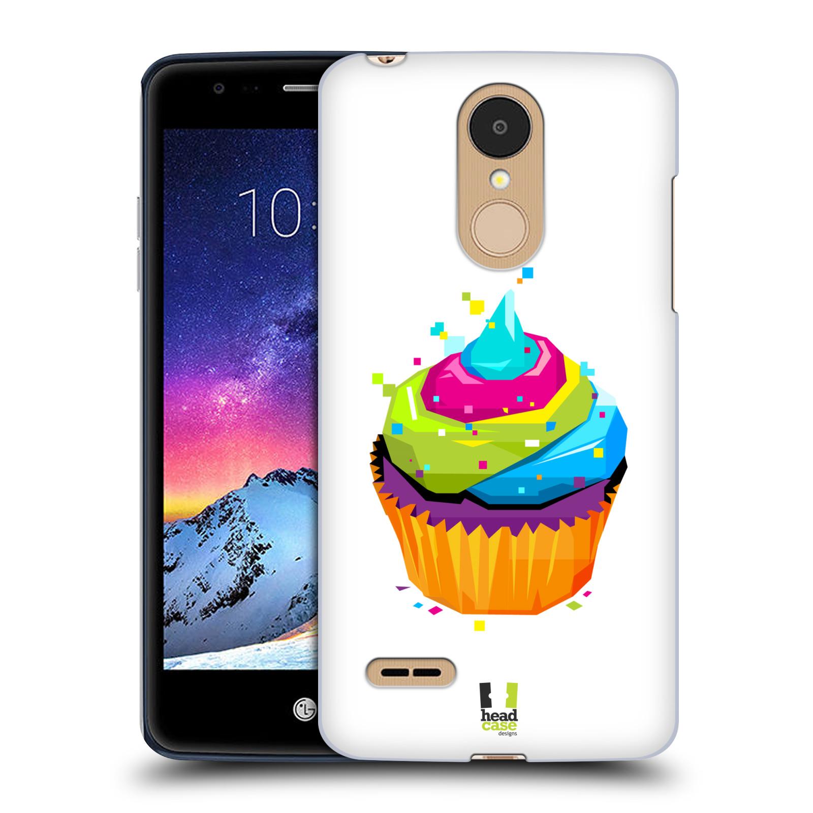 HEAD CASE plastový obal na mobil LG K9 / K8 2018 vzor POP ART kubismus dortík
