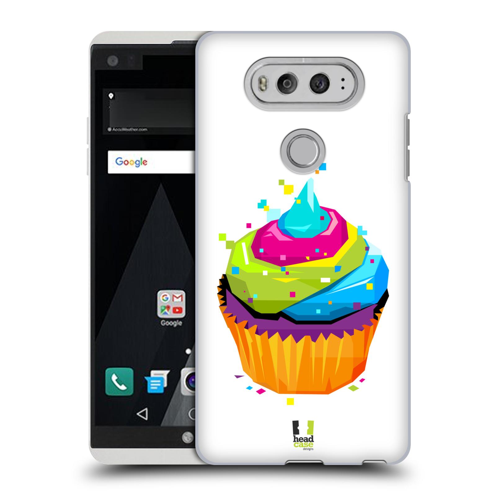 HEAD CASE plastový obal na mobil LG V20 vzor POP ART kubismus dortík
