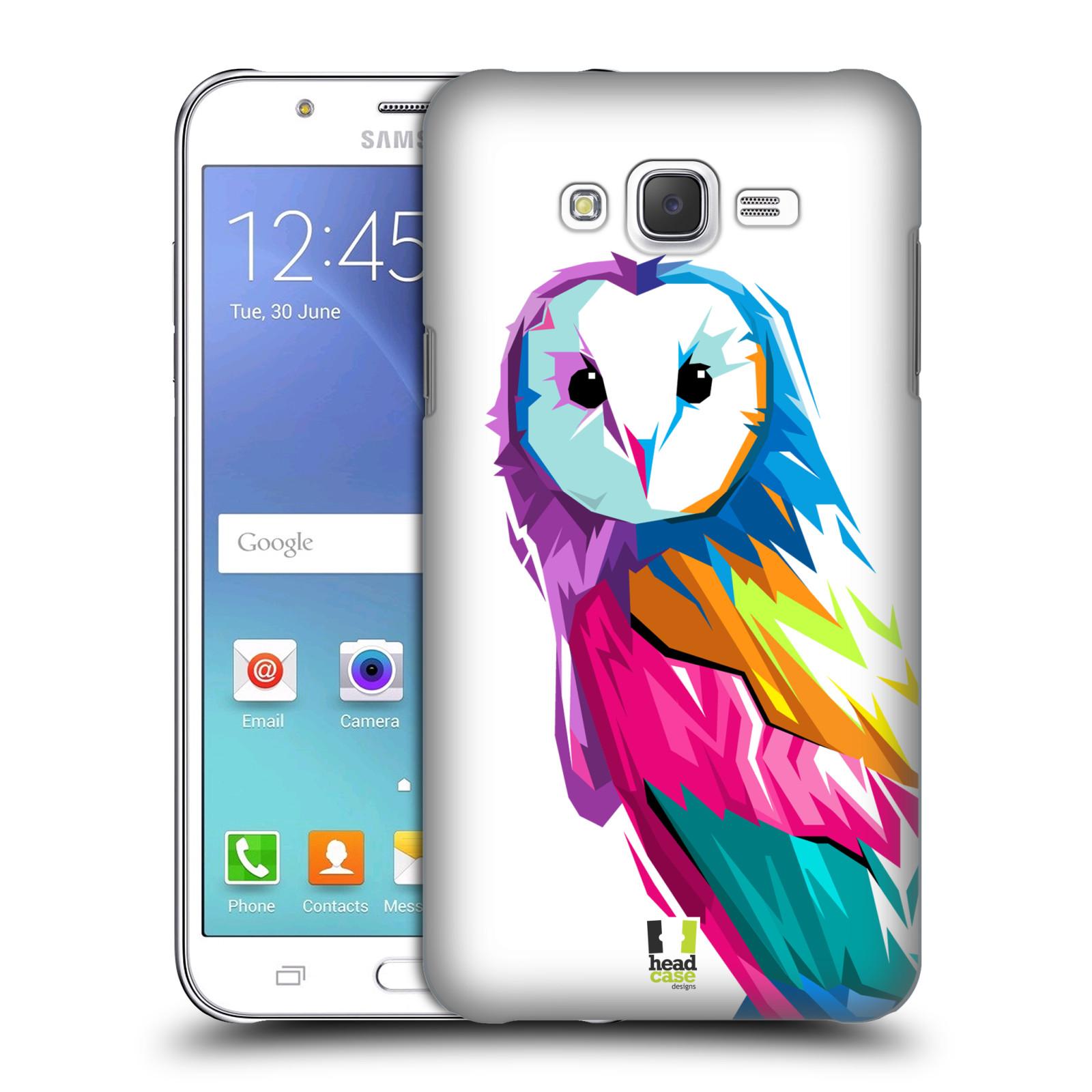 HEAD CASE plastový obal na mobil SAMSUNG Galaxy J7, J700 vzor POP ART kubismus SOVA