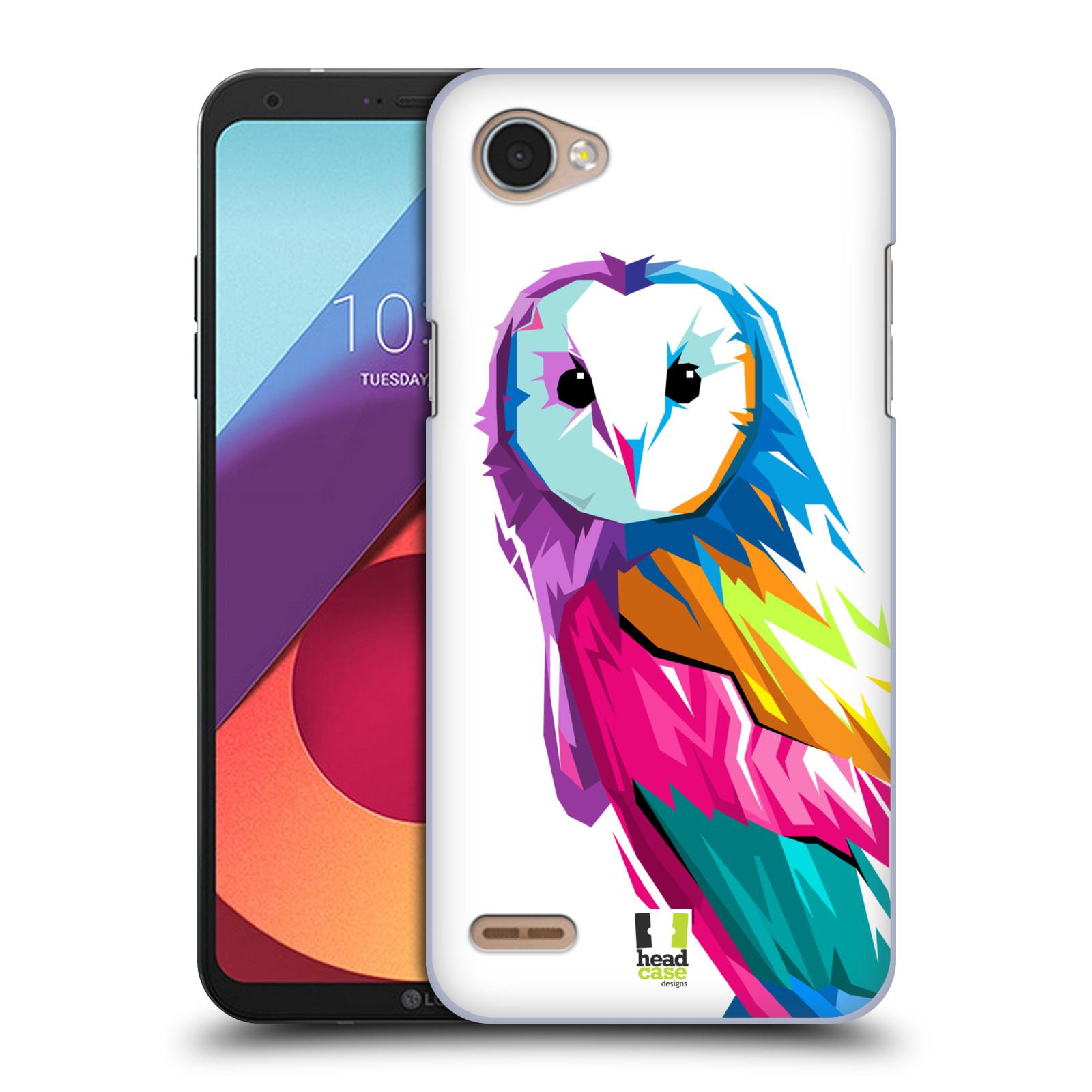 HEAD CASE plastový obal na mobil LG Q6 / Q6 PLUS vzor POP ART kubismus SOVA