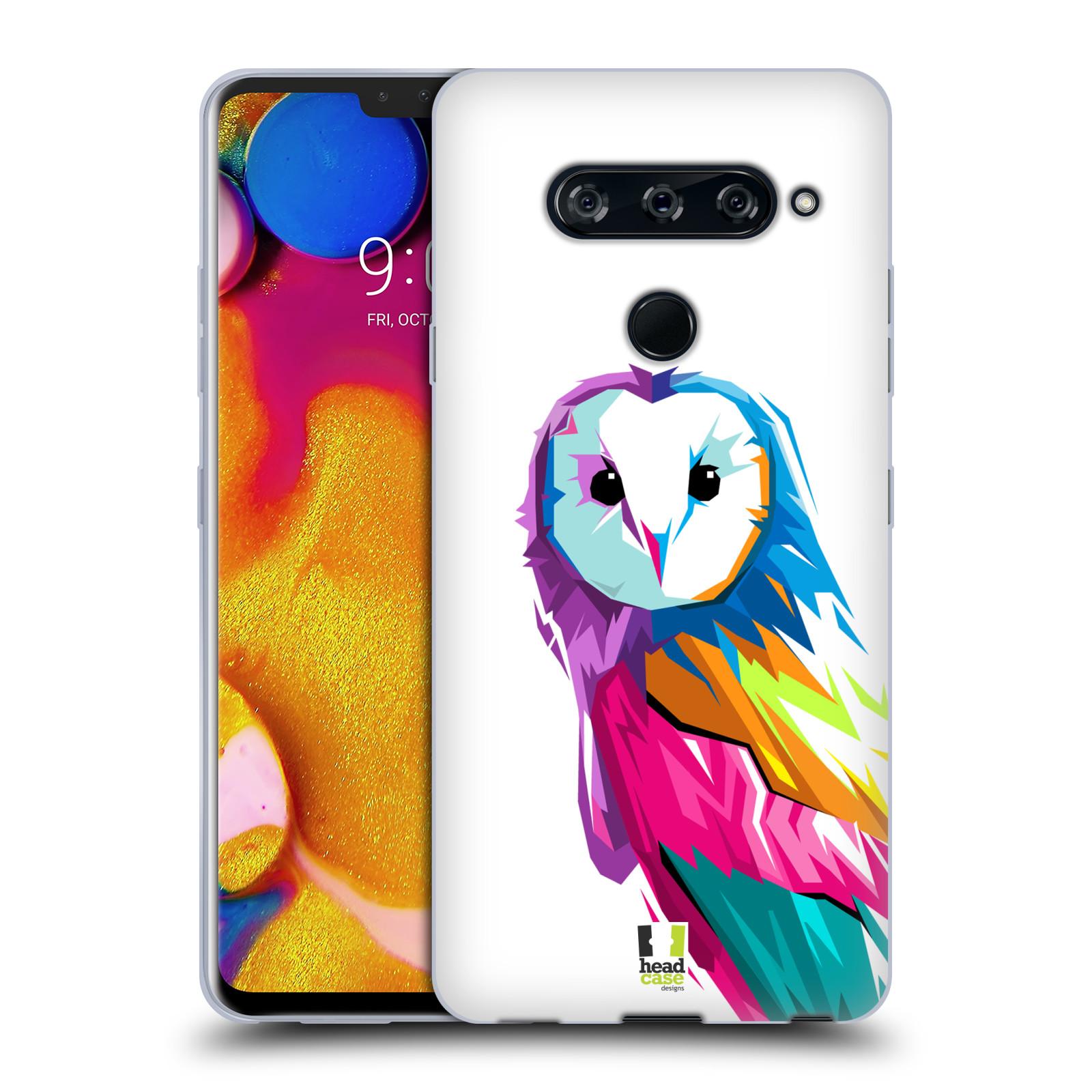Pouzdro na mobil LG V40 ThinQ vzor POP ART kubismus SOVA