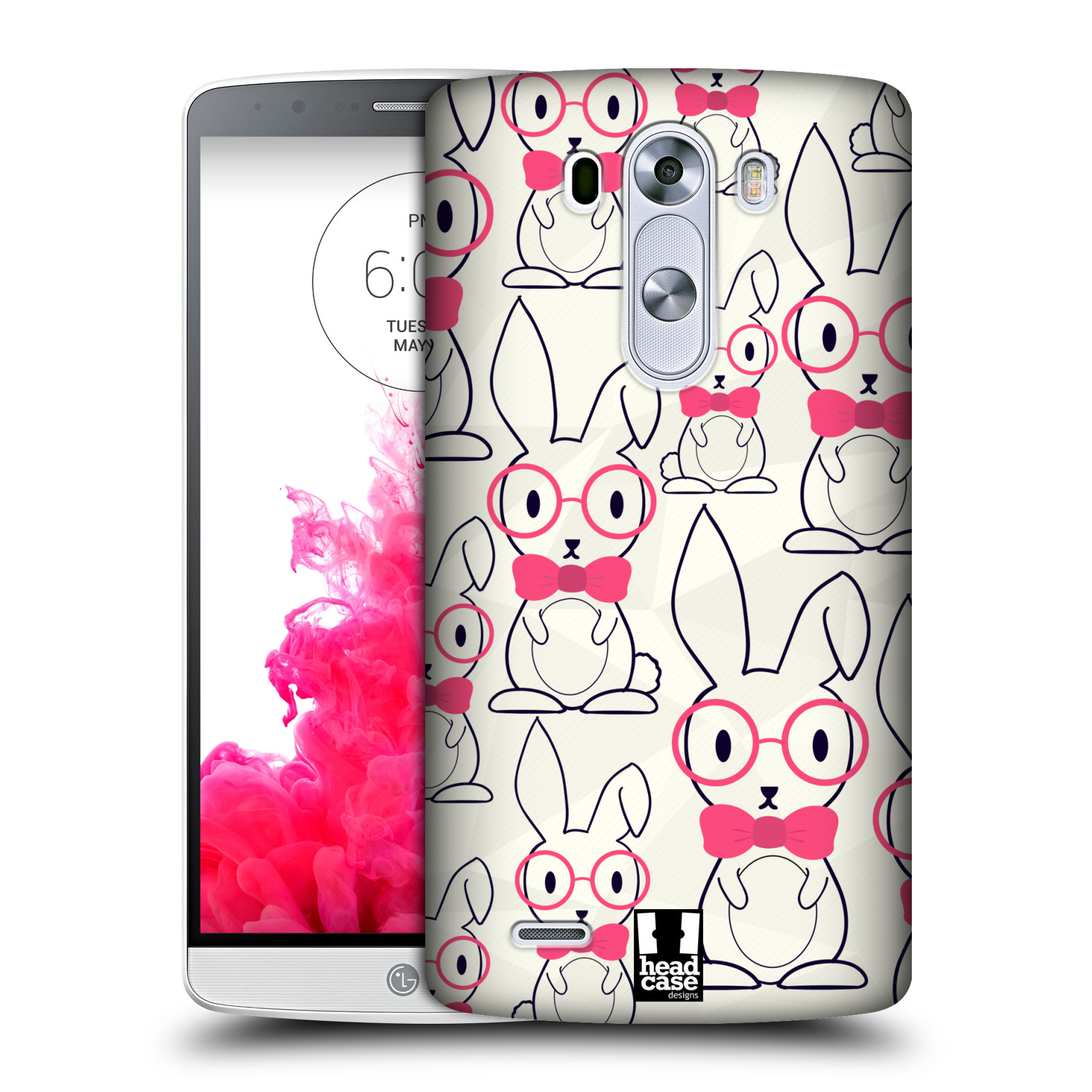 Head case designs cute geeky hard back case for lg phones 1 for Case design
