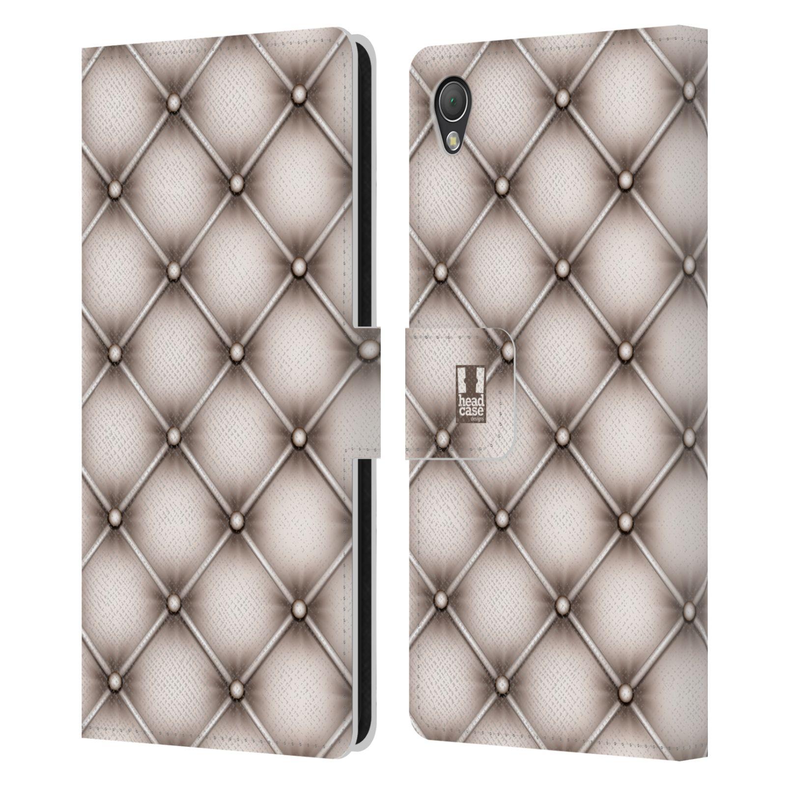 head case kissen brieftasche handyh lle aus leder f r sony phones 1 ebay. Black Bedroom Furniture Sets. Home Design Ideas