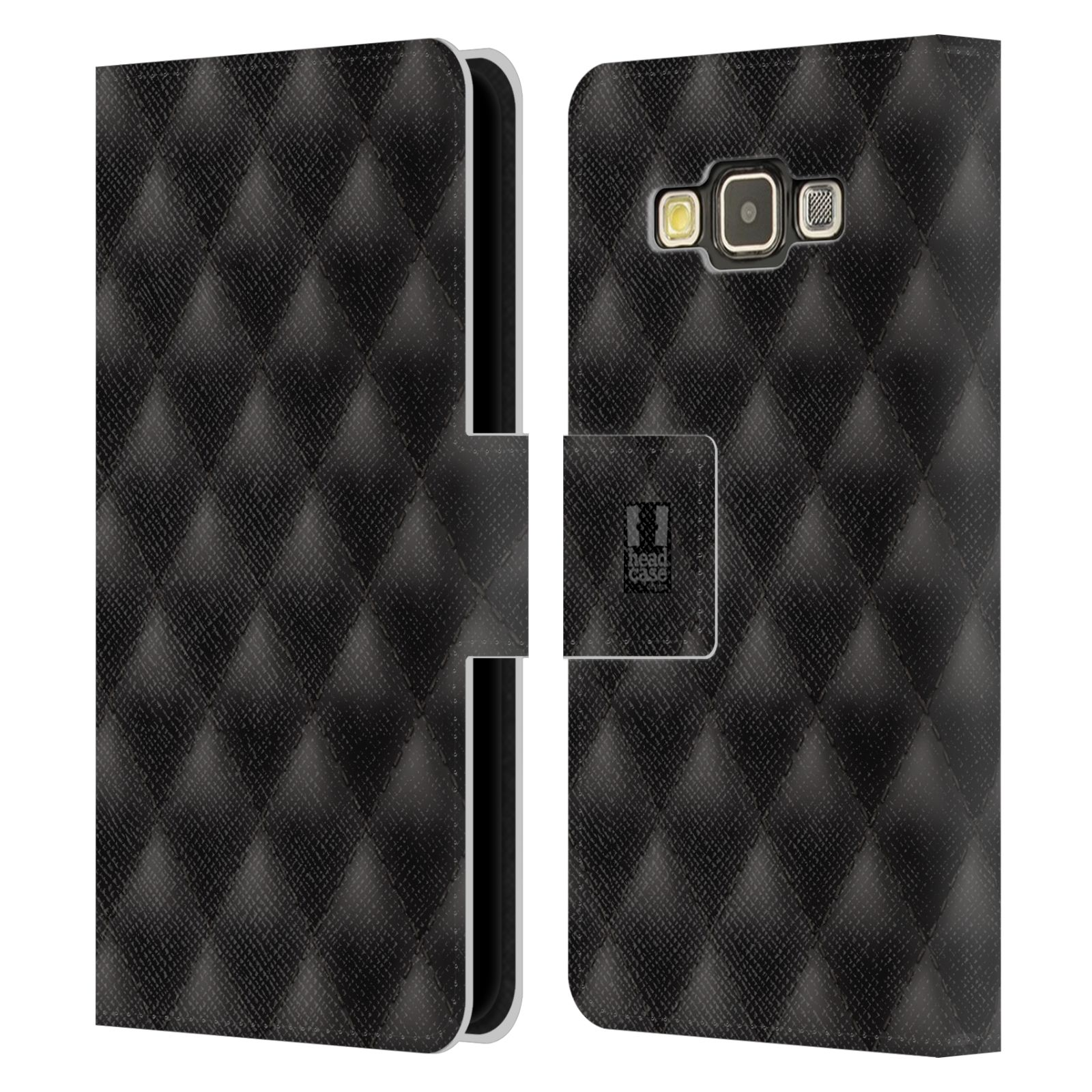 head case designs kissen brieftasche handyh lle aus leder f r samsung galaxy a3. Black Bedroom Furniture Sets. Home Design Ideas