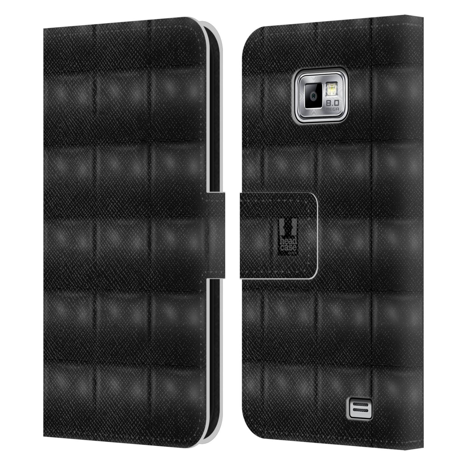 head case kissen brieftasche handyh lle aus leder f r. Black Bedroom Furniture Sets. Home Design Ideas