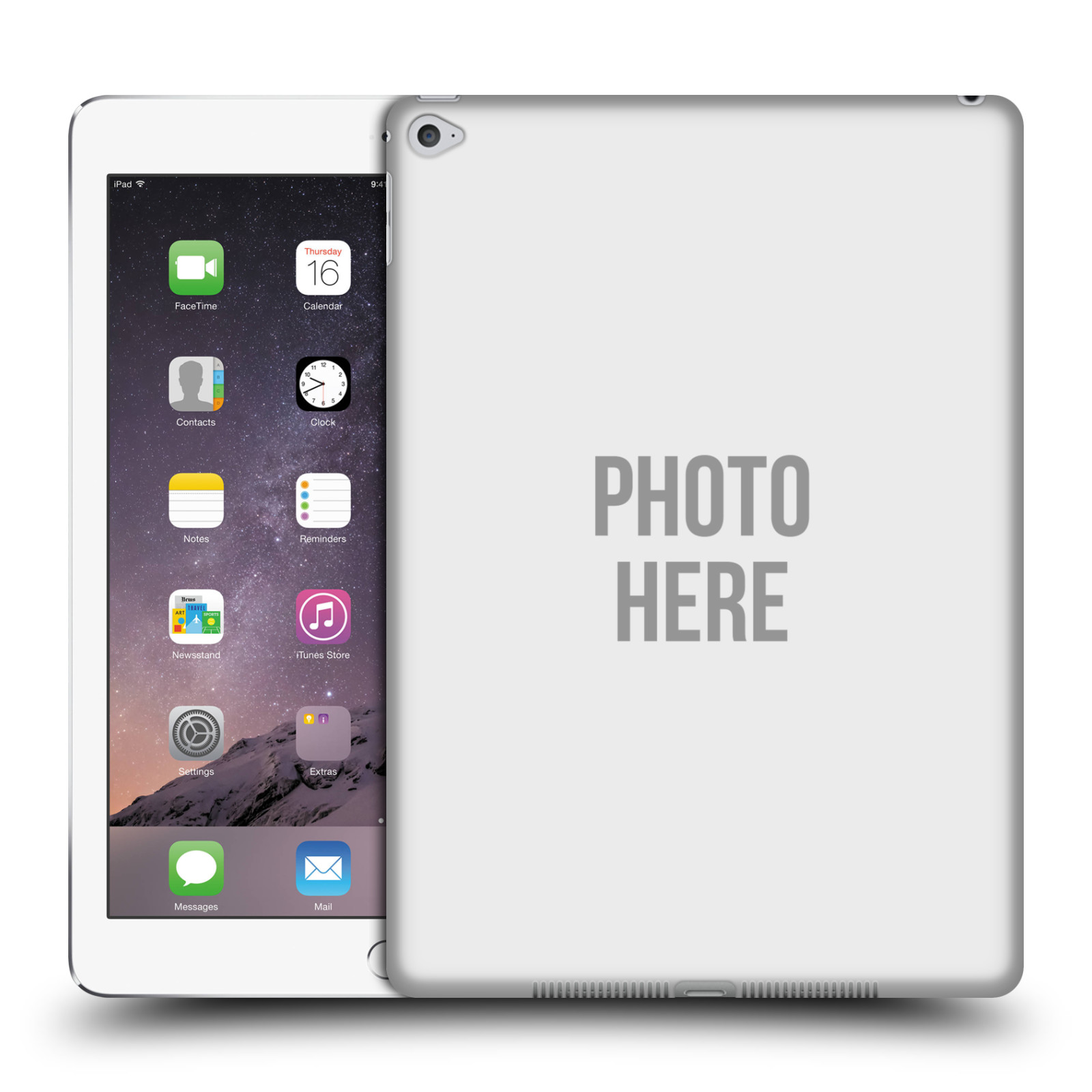 Create Your Own Custom Hard Back Case For Apple Ipad Ebay