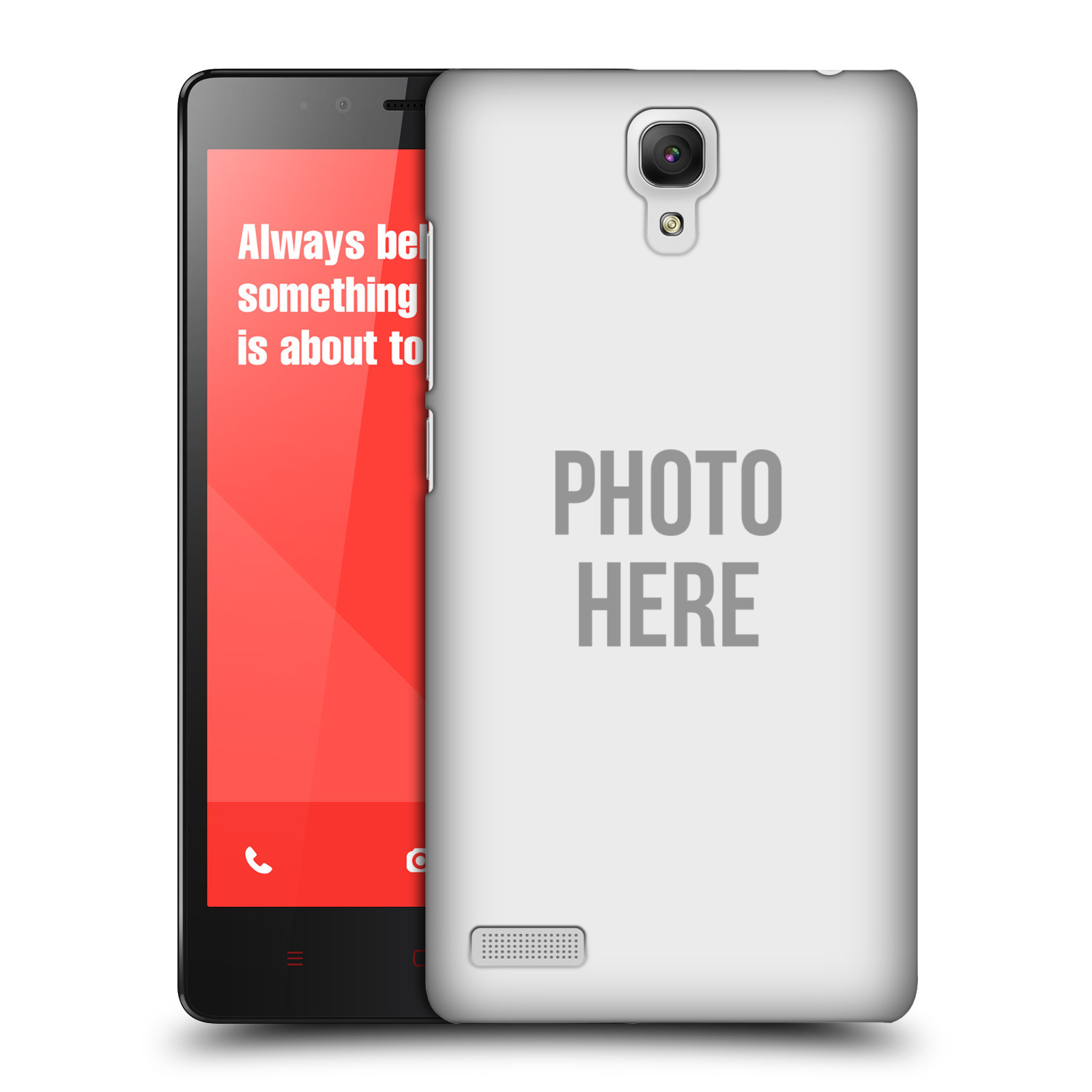 Plastové pouzdro na mobil Xiaomi Redmi Note LTE HEAD CASE s vlastním motivem (Kryt či obal s vlastní fotografií na mobilní telefon Xiaomi Redmi Note LTE (4G) s 5,5'' displejem)