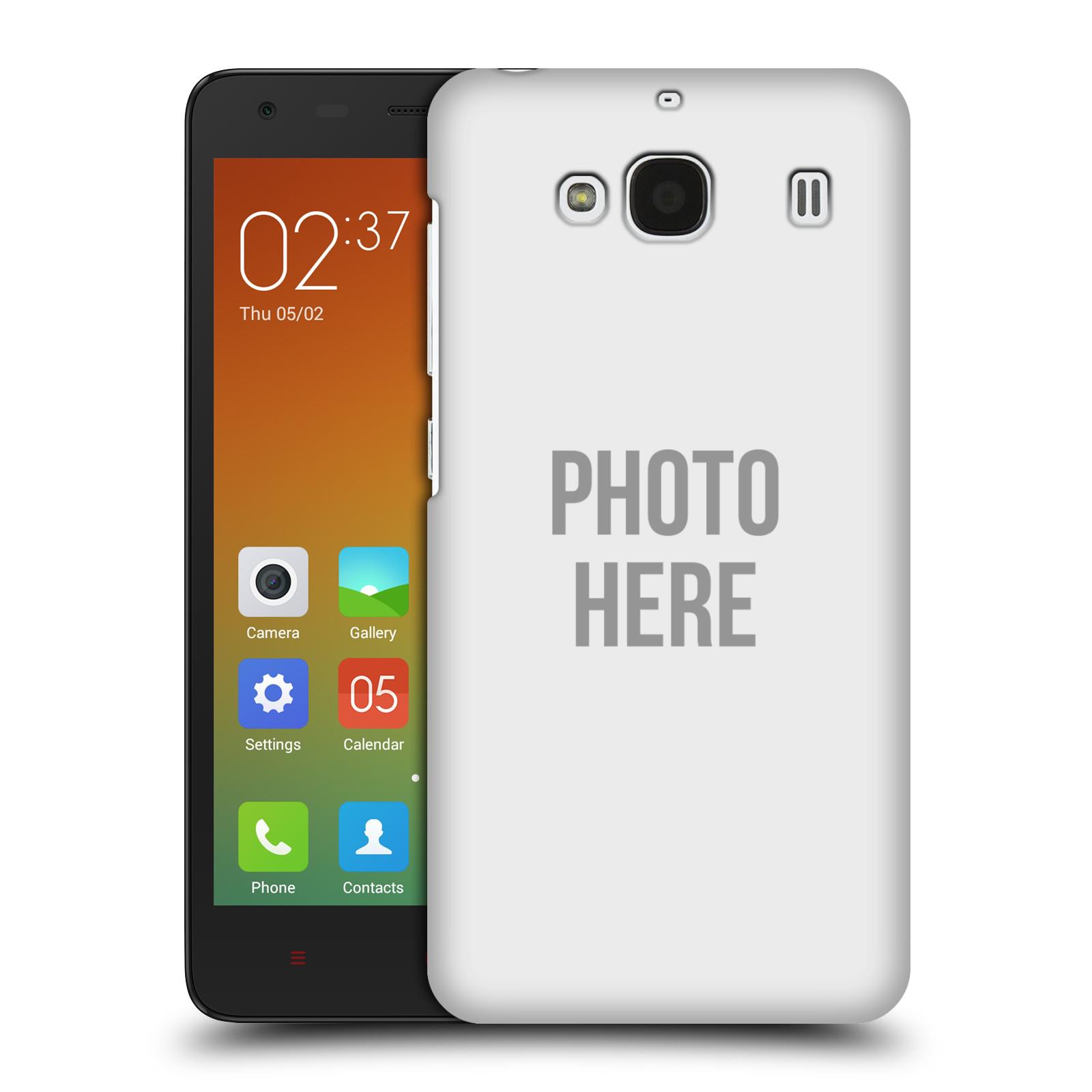 Plastové pouzdro na mobil Xiaomi Redmi 2 HEAD CASE s vlastním motivem (Kryt či obal s vlastní fotografií na mobilní telefon Xiaomi Redmi 2)