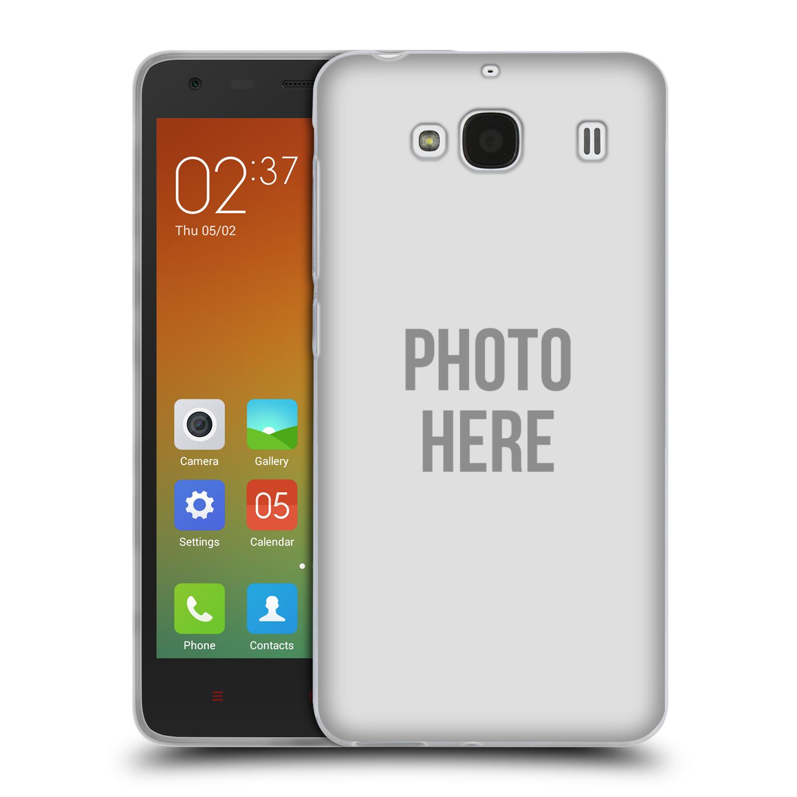 Silikonové pouzdro na mobil Xiaomi Redmi 2 HEAD CASE s vlastním motivem (Silikonový kryt či obal s vlastní fotografií na mobilní telefon Xiaomi Redmi 2)