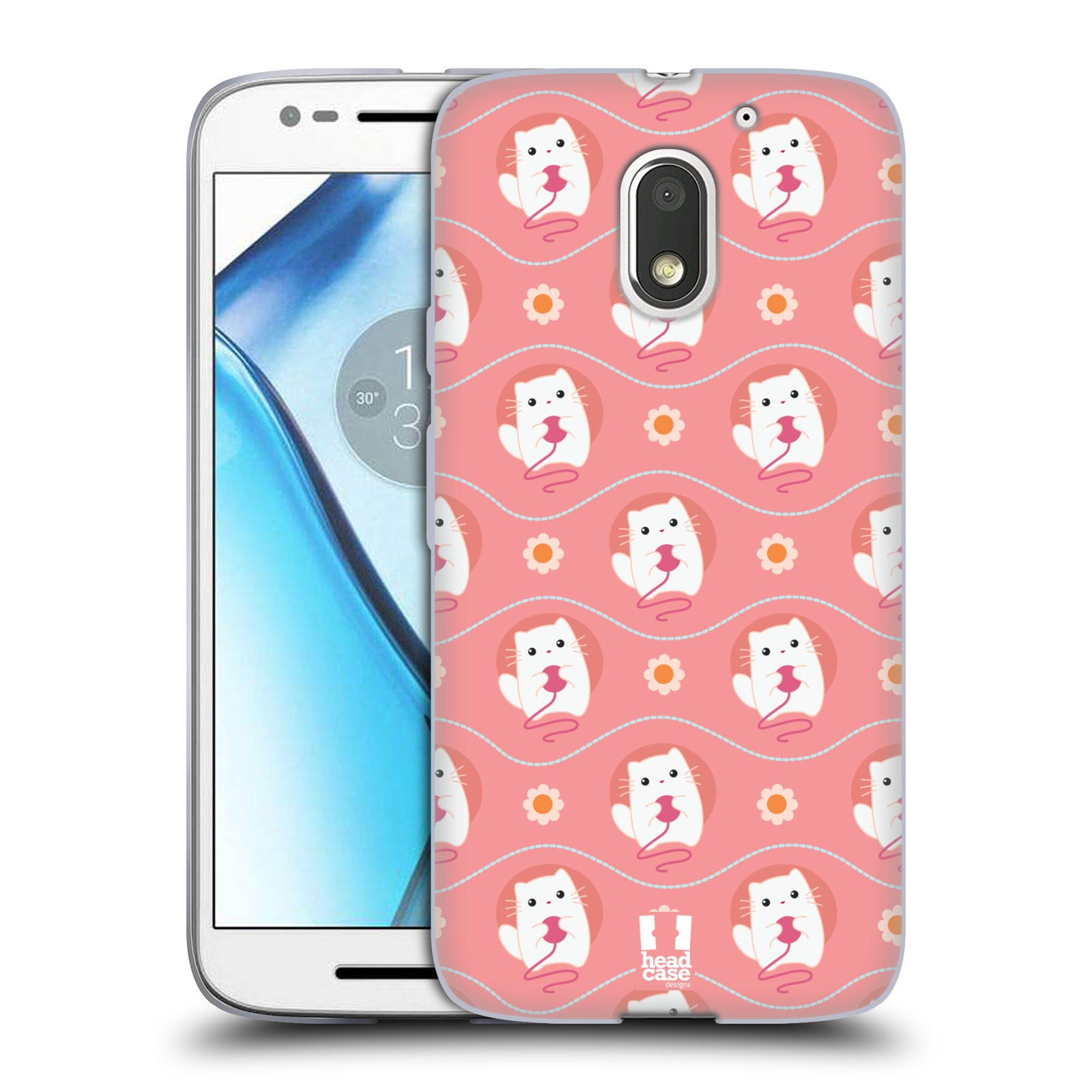 HEAD-CASE-DESIGNS-CUTIE-ANIMAL-PATTERNS-SOFT-GEL-CASE-FOR-MOTOROLA-MOTO-E3