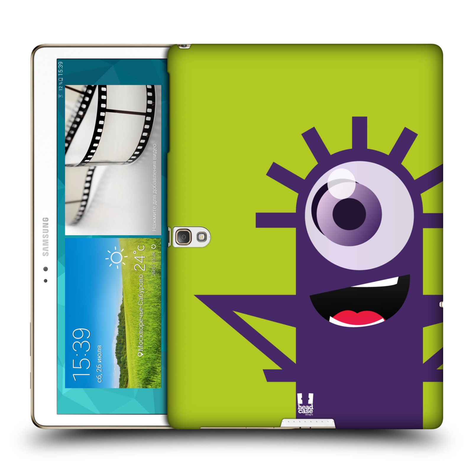 HEAD CASE CYCLOPS SNAP-ON BACK COVER FOR SAMSUNG GALAXY TAB S 10.5 WIFI T800