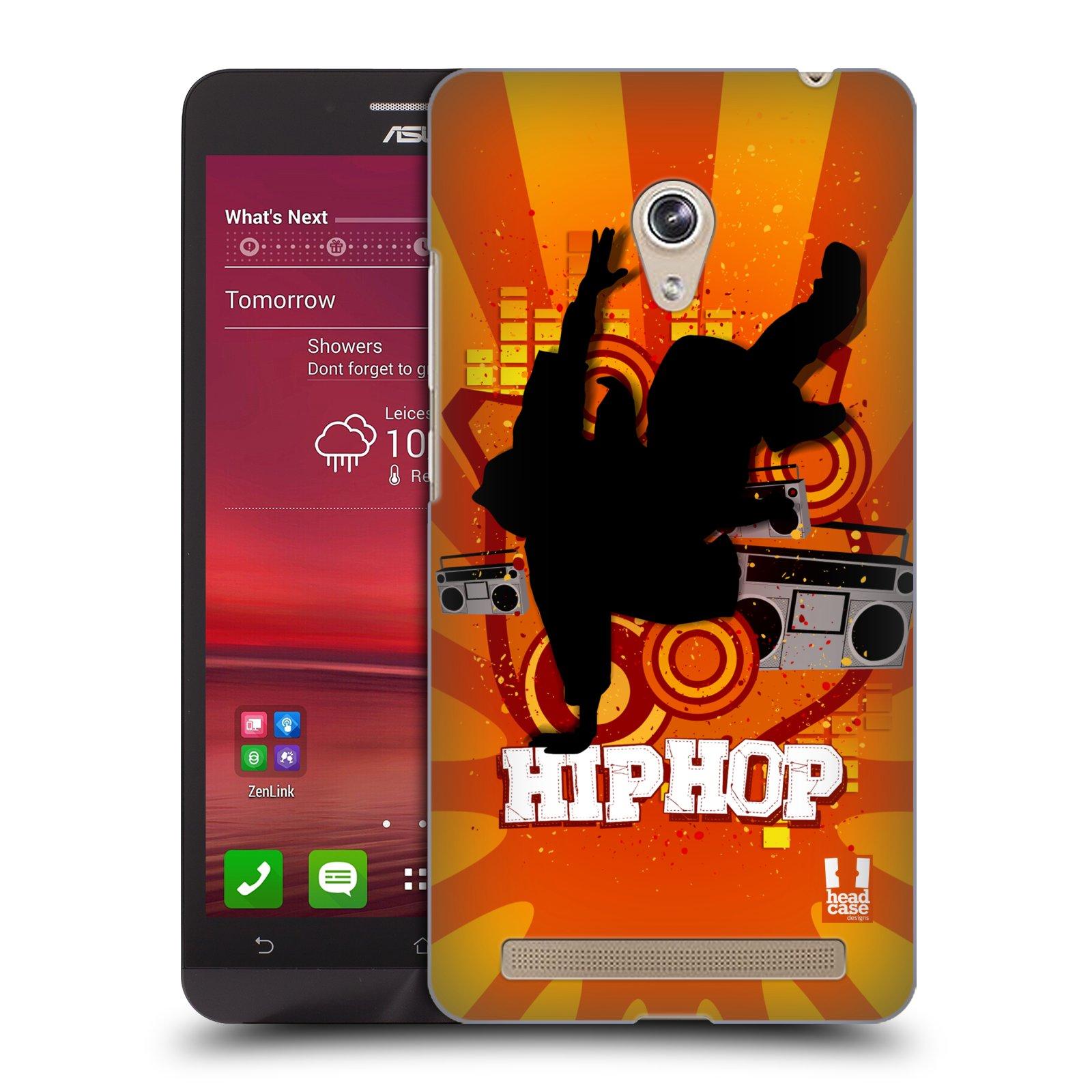 HEAD CASE plastový obal na mobil Asus Zenfone 6 vzor TANEC SILUETA HIP HOP