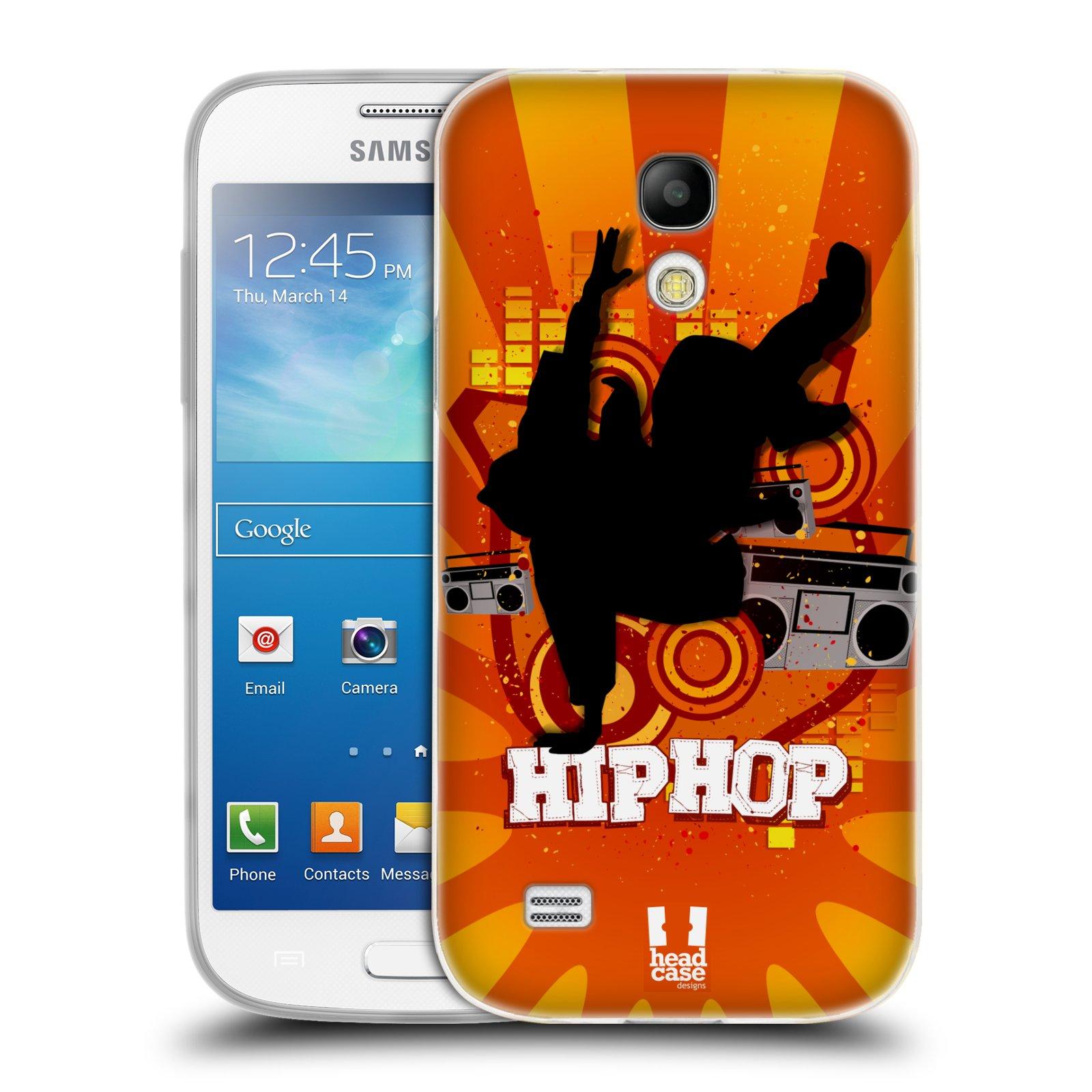 HEAD CASE silikonový obal na mobil Samsung Galaxy S4 MINI vzor TANEC SILUETA HIP HOP