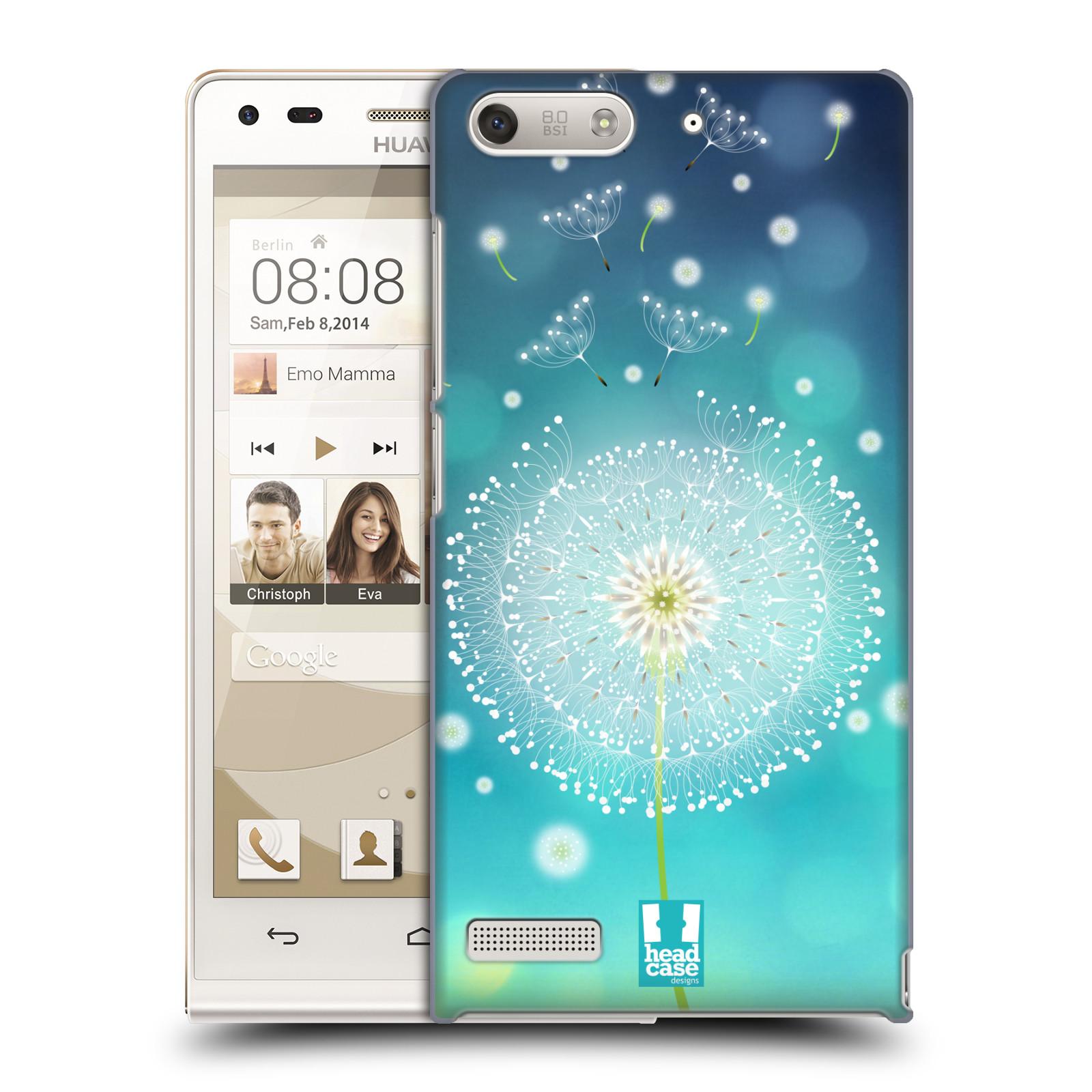 Plastové pouzdro na mobil Huawei Ascend G6 HEAD CASE Rozlétaná pampeliška (Kryt či obal na mobilní telefon Huawei Ascend G6 bez LTE)