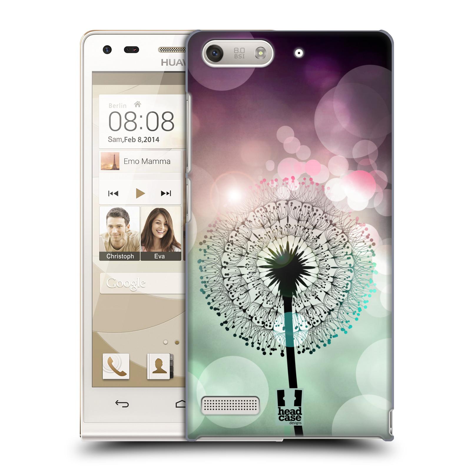 Plastové pouzdro na mobil Huawei Ascend G6 HEAD CASE Pampeliškové odlesky (Kryt či obal na mobilní telefon Huawei Ascend G6 bez LTE)