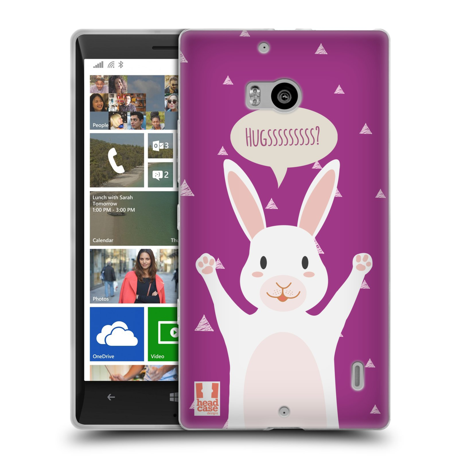 HEAD CASE DARLING PETS SILICONE GEL CASE FOR NOKIA LUMIA 930