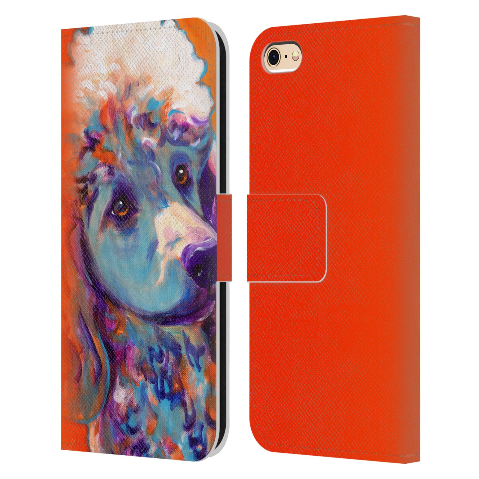 Best Book Cover For Iphone : Official dawgart dogs leather book wallet case cover for