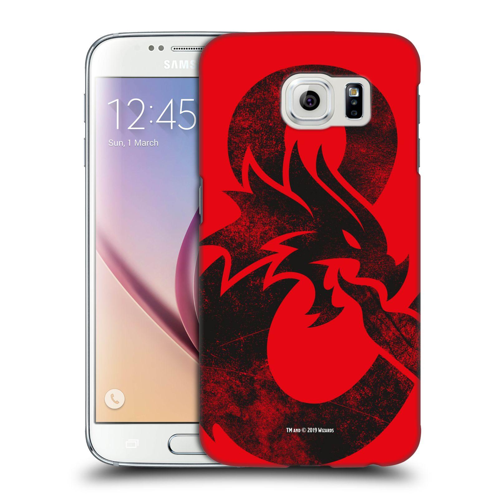 Pouzdro na mobil Samsung Galaxy S6 - HEAD CASE - Dungeons and Dragons - Chrlící drak