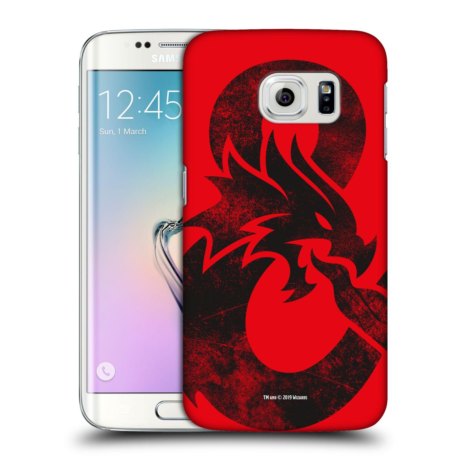 Pouzdro na mobil Samsung Galaxy S6 EDGE - HEAD CASE - Dungeons and Dragons - Chrlící drak