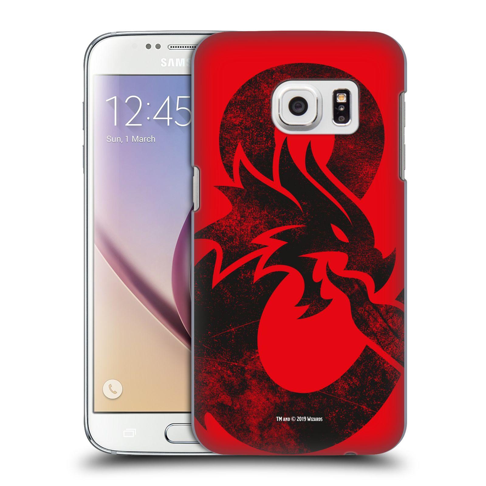 Pouzdro na mobil Samsung Galaxy S7 - HEAD CASE - Dungeons and Dragons - Chrlící drak