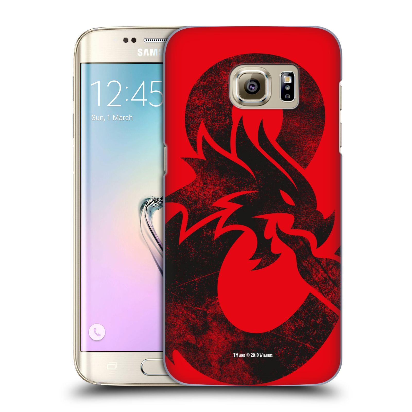 Pouzdro na mobil Samsung Galaxy S7 EDGE - HEAD CASE - Dungeons and Dragons - Chrlící drak