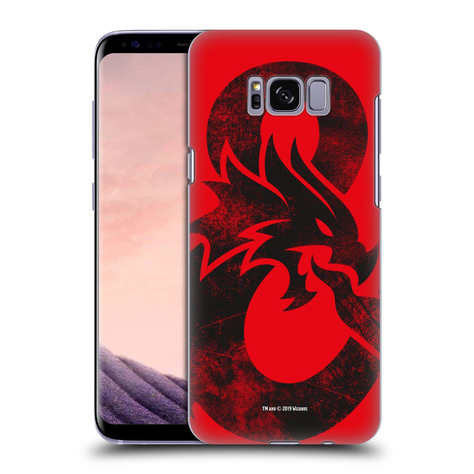 Pouzdro na mobil Samsung Galaxy S8 - HEAD CASE - Dungeons and Dragons - Chrlící drak