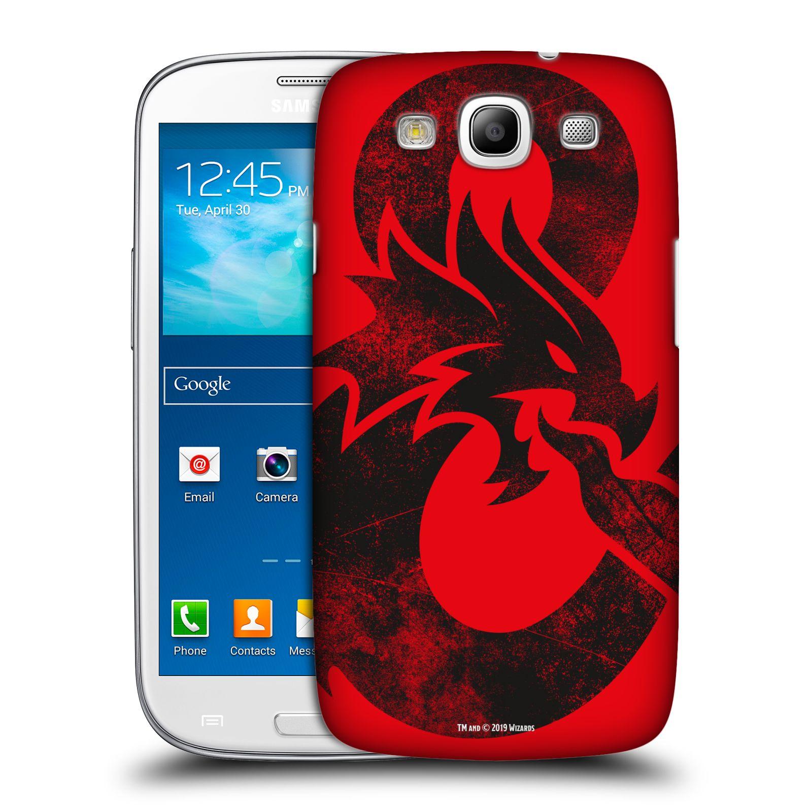 Pouzdro na mobil Samsung Galaxy S3 - HEAD CASE - Dungeons and Dragons - Chrlící drak