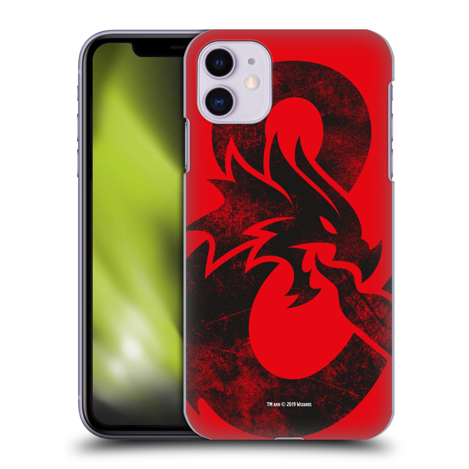 Pouzdro na mobil Apple Iphone 11 - HEAD CASE - Dungeons and Dragons - Chrlící drak