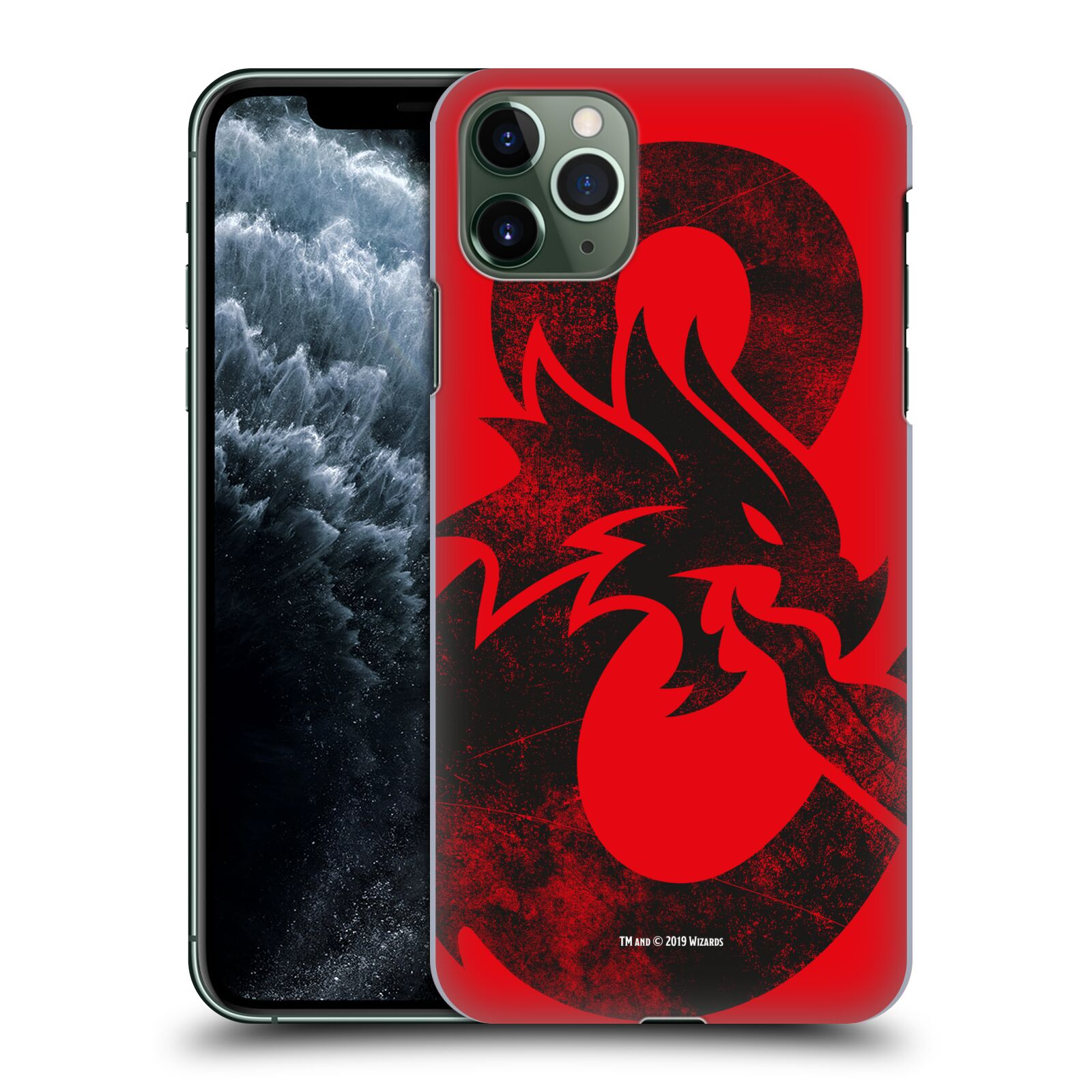 Pouzdro na mobil Apple Iphone 11 PRO MAX - HEAD CASE - Dungeons and Dragons - Chrlící drak