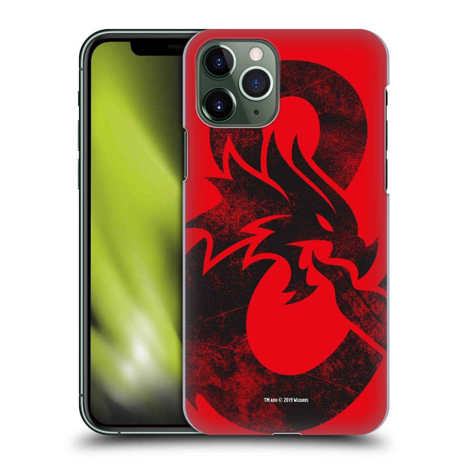 Pouzdro na mobil Apple Iphone 11 PRO - HEAD CASE - Dungeons and Dragons - Chrlící drak