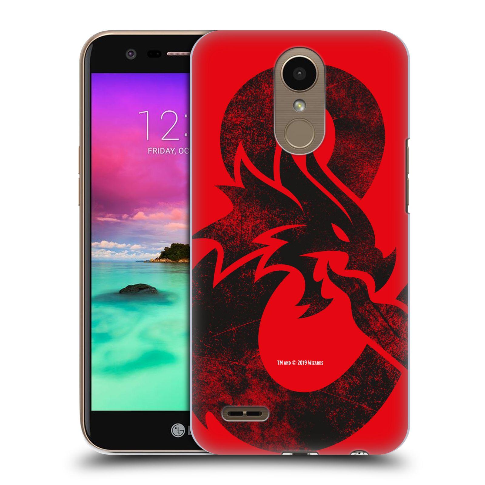 Pouzdro na mobil LG K10 2017 / K10 2017 DUAL SIM - HEAD CASE - Dungeons and Dragons - Chrlící drak