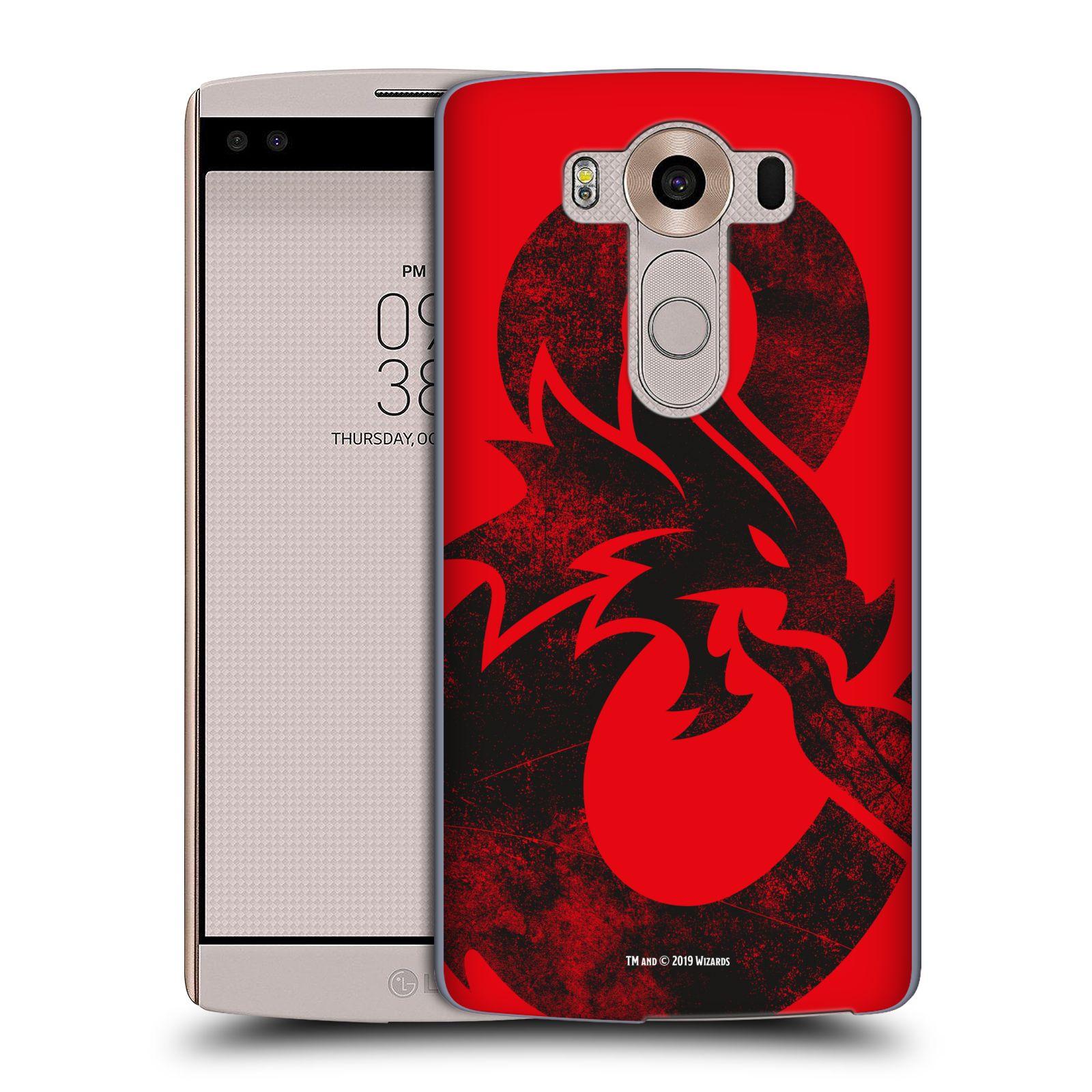 Pouzdro na mobil LG V10 - HEAD CASE - Dungeons and Dragons - Chrlící drak