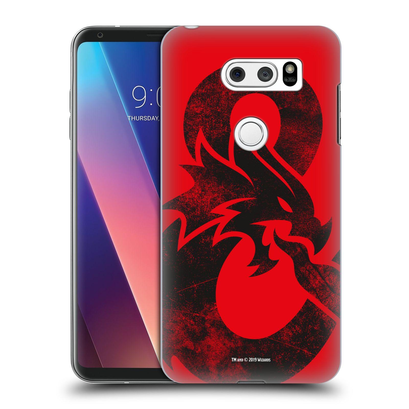 Pouzdro na mobil LG V30 - HEAD CASE - Dungeons and Dragons - Chrlící drak