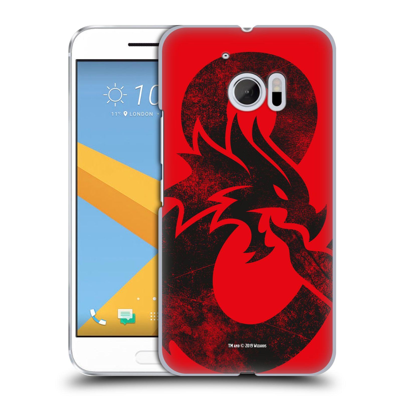 Pouzdro na mobil HTC 10 - HEAD CASE - Dungeons and Dragons - Chrlící drak