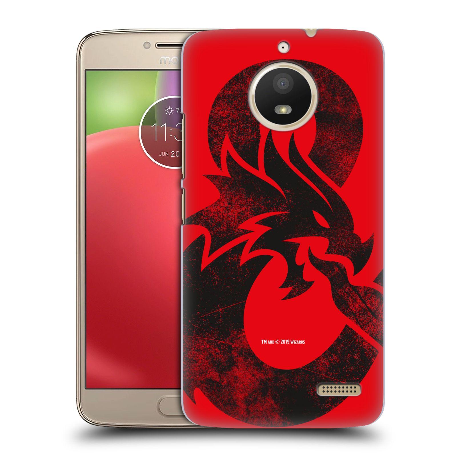 Pouzdro na mobil Lenovo Moto E4 - HEAD CASE - Dungeons and Dragons - Chrlící drak