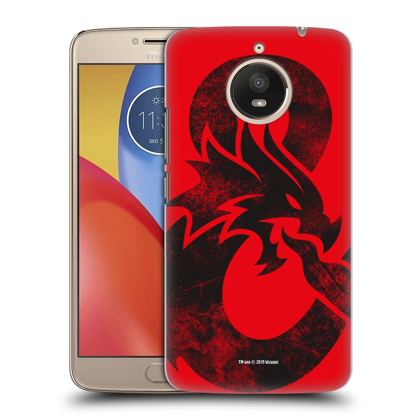 Pouzdro na mobil Lenovo Moto E4 PLUS - HEAD CASE - Dungeons and Dragons - Chrlící drak