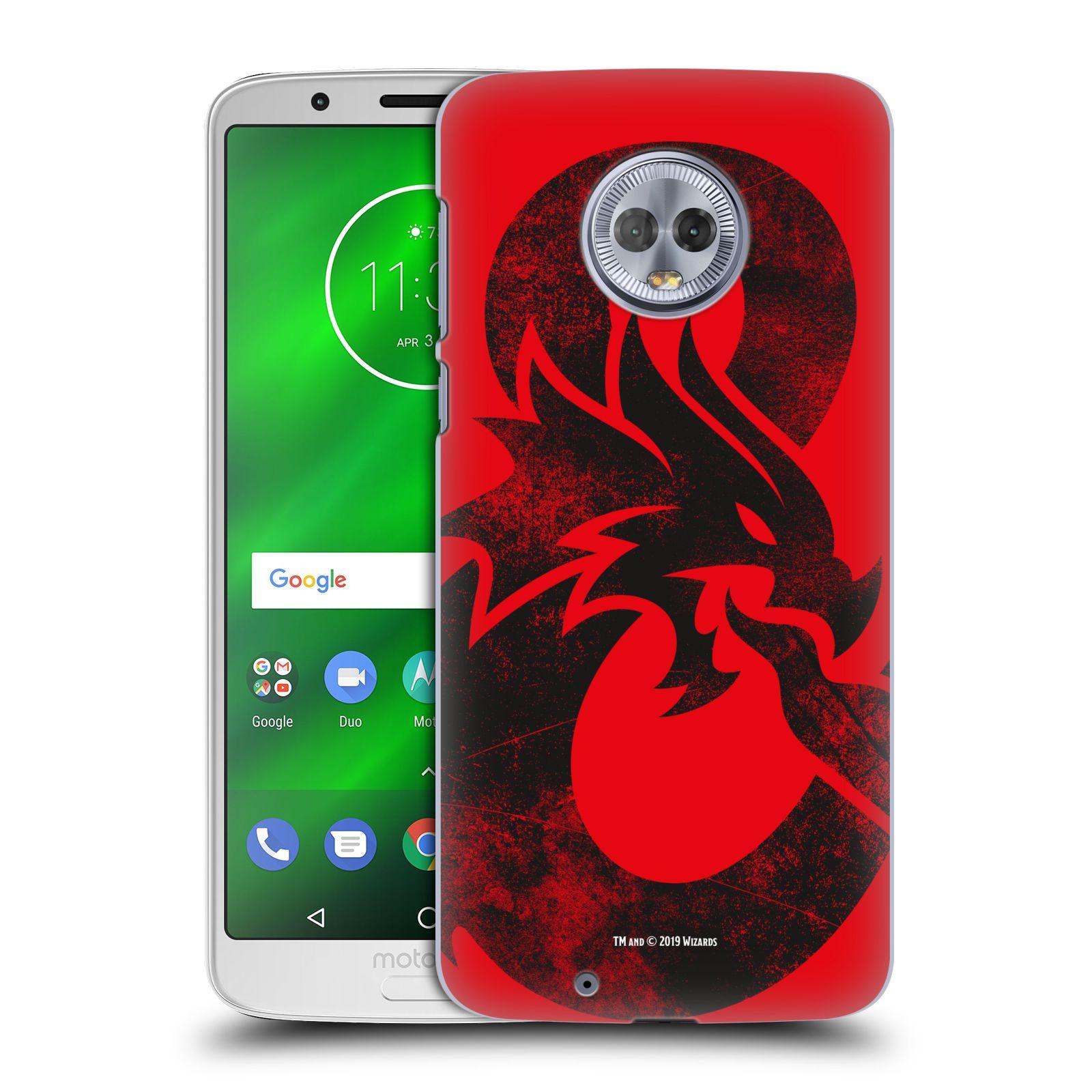 Pouzdro na mobil Motorola Moto G6 - HEAD CASE - Dungeons and Dragons - Chrlící drak