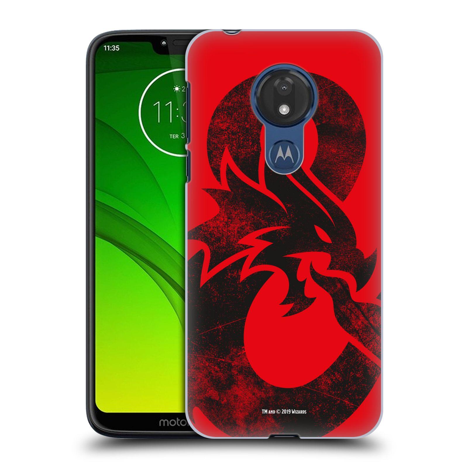 Pouzdro na mobil Motorola Moto G7 POWER - HEAD CASE - Dungeons and Dragons - Chrlící drak