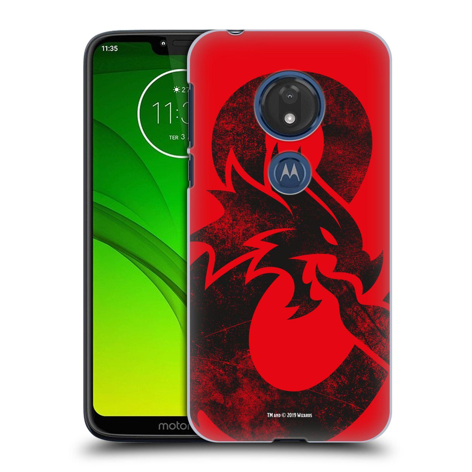 Pouzdro na mobil Motorola Moto G7 Play - HEAD CASE - Dungeons and Dragons - Chrlící drak
