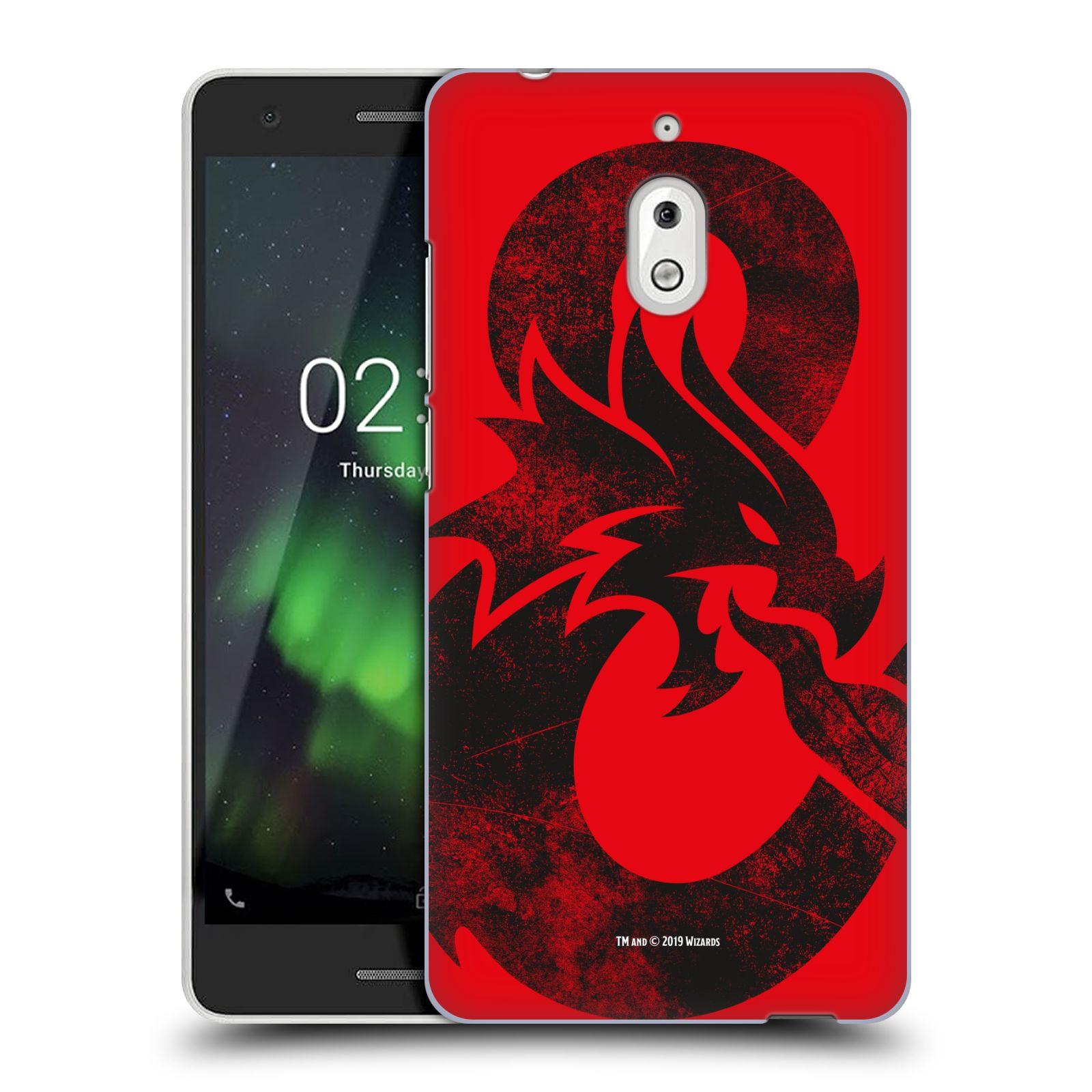 Pouzdro na mobil Nokia 2.1 - HEAD CASE - Dungeons and Dragons - Chrlící drak