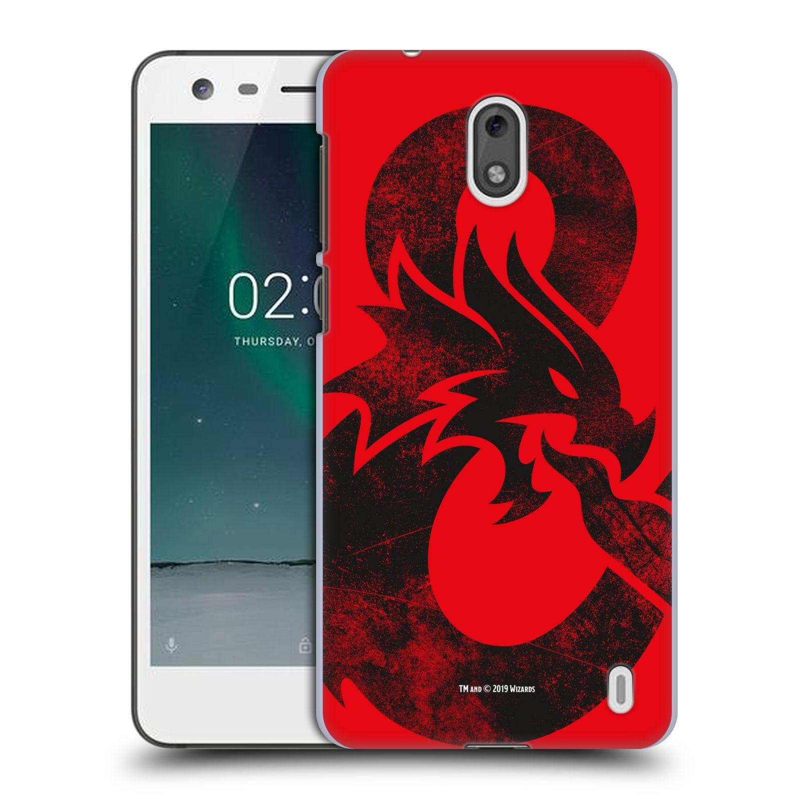 Pouzdro na mobil Nokia 2 - HEAD CASE - Dungeons and Dragons - Chrlící drak