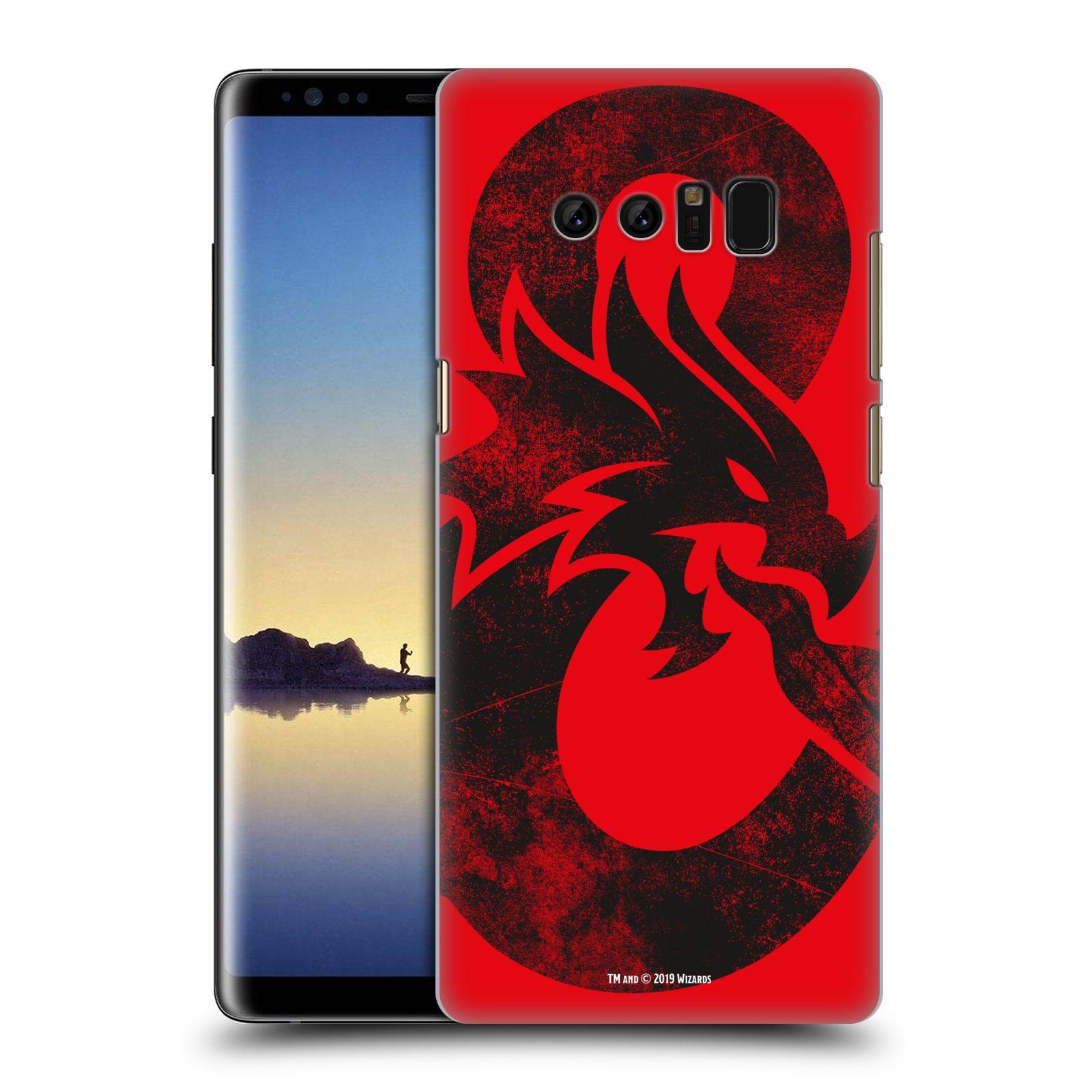 Pouzdro na mobil Samsung Galaxy Note 8 - HEAD CASE - Dungeons and Dragons - Chrlící drak