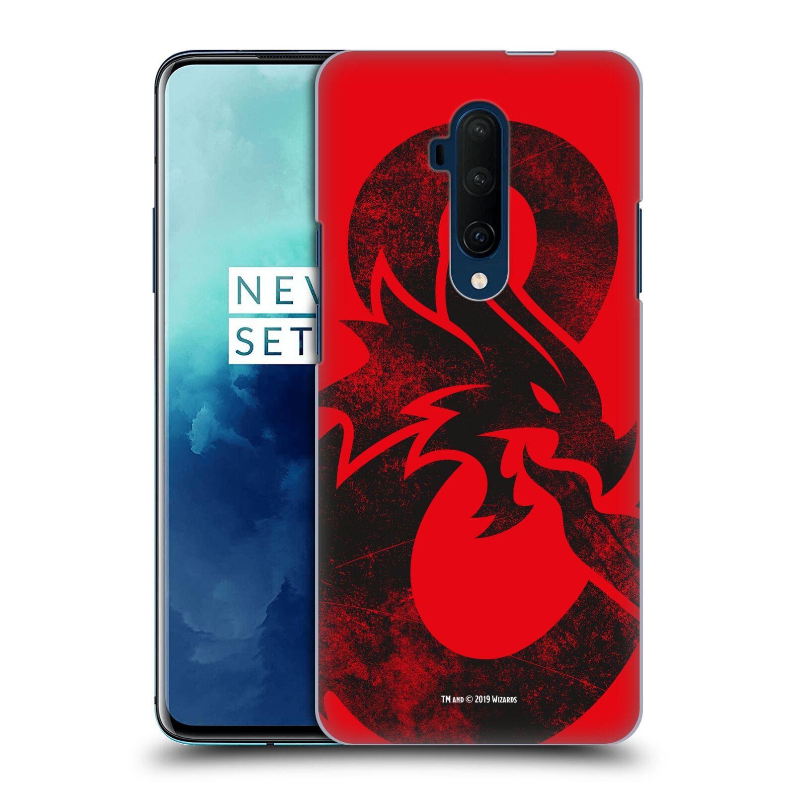 Pouzdro na mobil OnePlus 7T Pro - HEAD CASE - Dungeons and Dragons - Chrlící drak