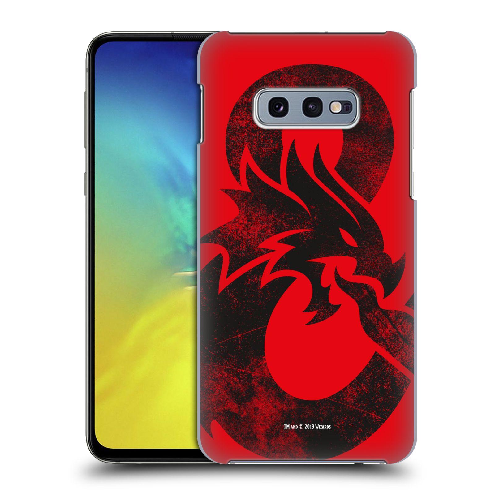 Pouzdro na mobil Samsung Galaxy S10e - HEAD CASE - Dungeons and Dragons - Chrlící drak