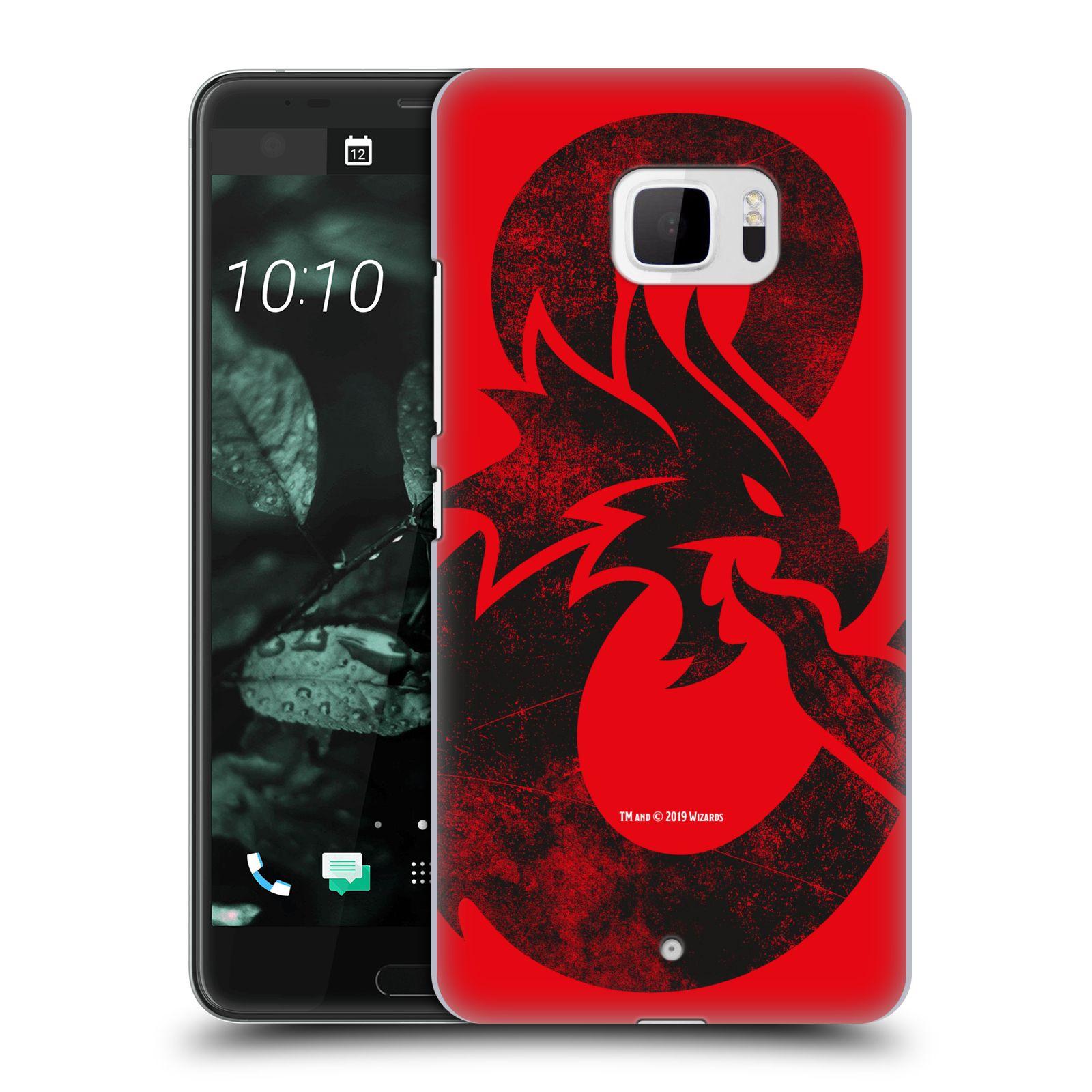 Pouzdro na mobil HTC U Ultra - HEAD CASE - Dungeons and Dragons - Chrlící drak
