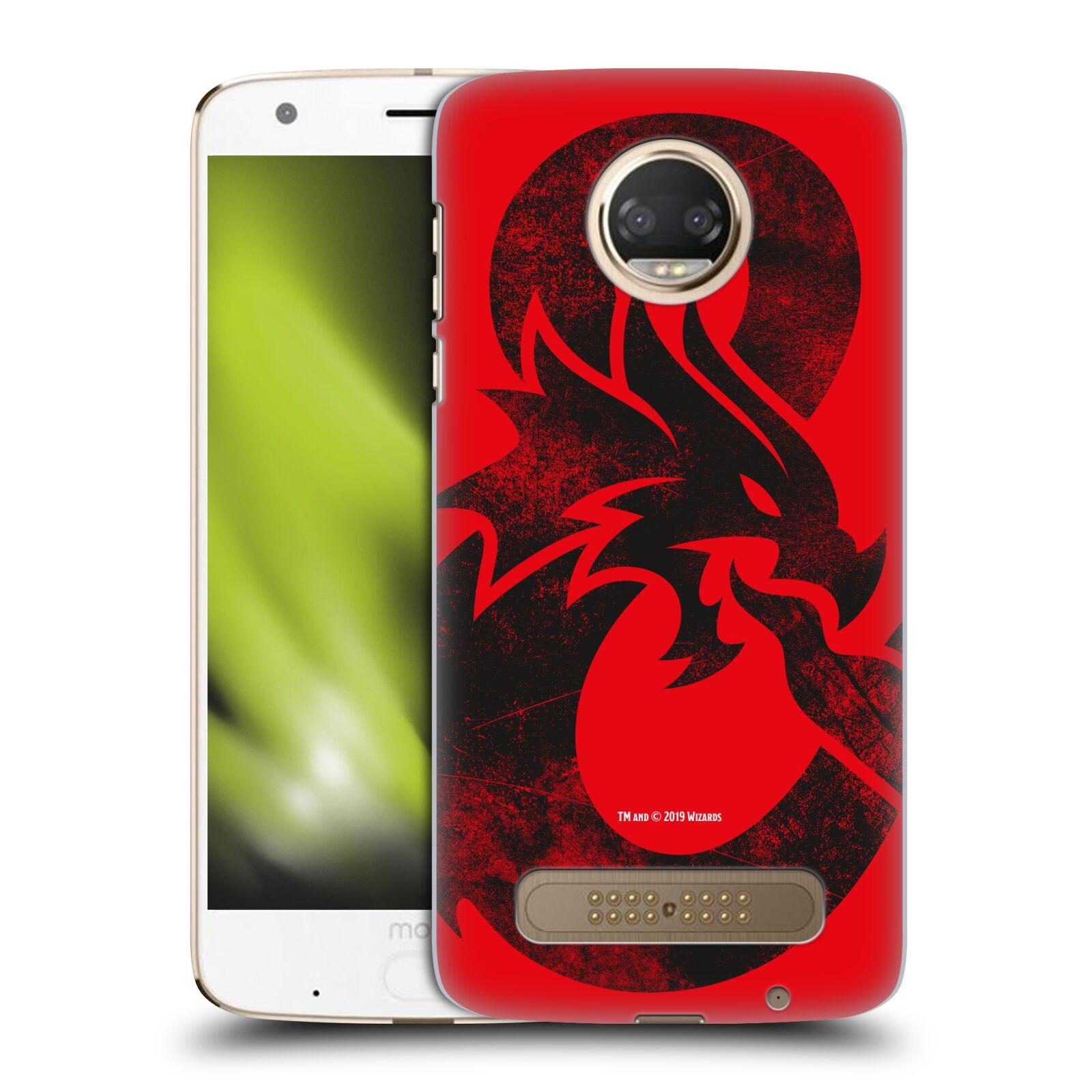 Pouzdro na mobil Motorola Moto Z2 PLAY - HEAD CASE - Dungeons and Dragons - Chrlící drak